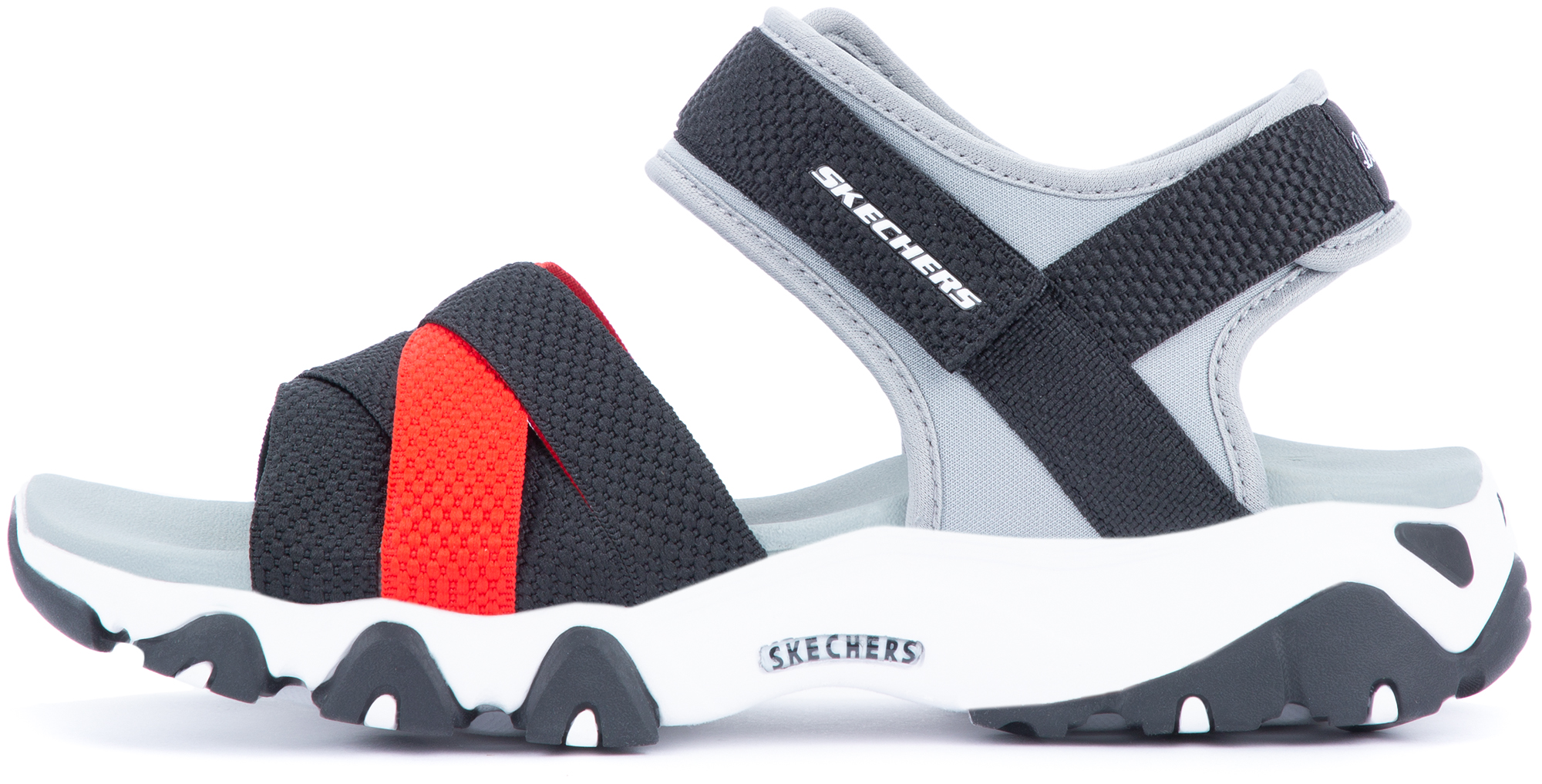 Skechers Сандалии женские Skechers D'Lites 2.0 Mega Summer, размер 42 skechers сандалии женские skechers on the go 600 размер 42