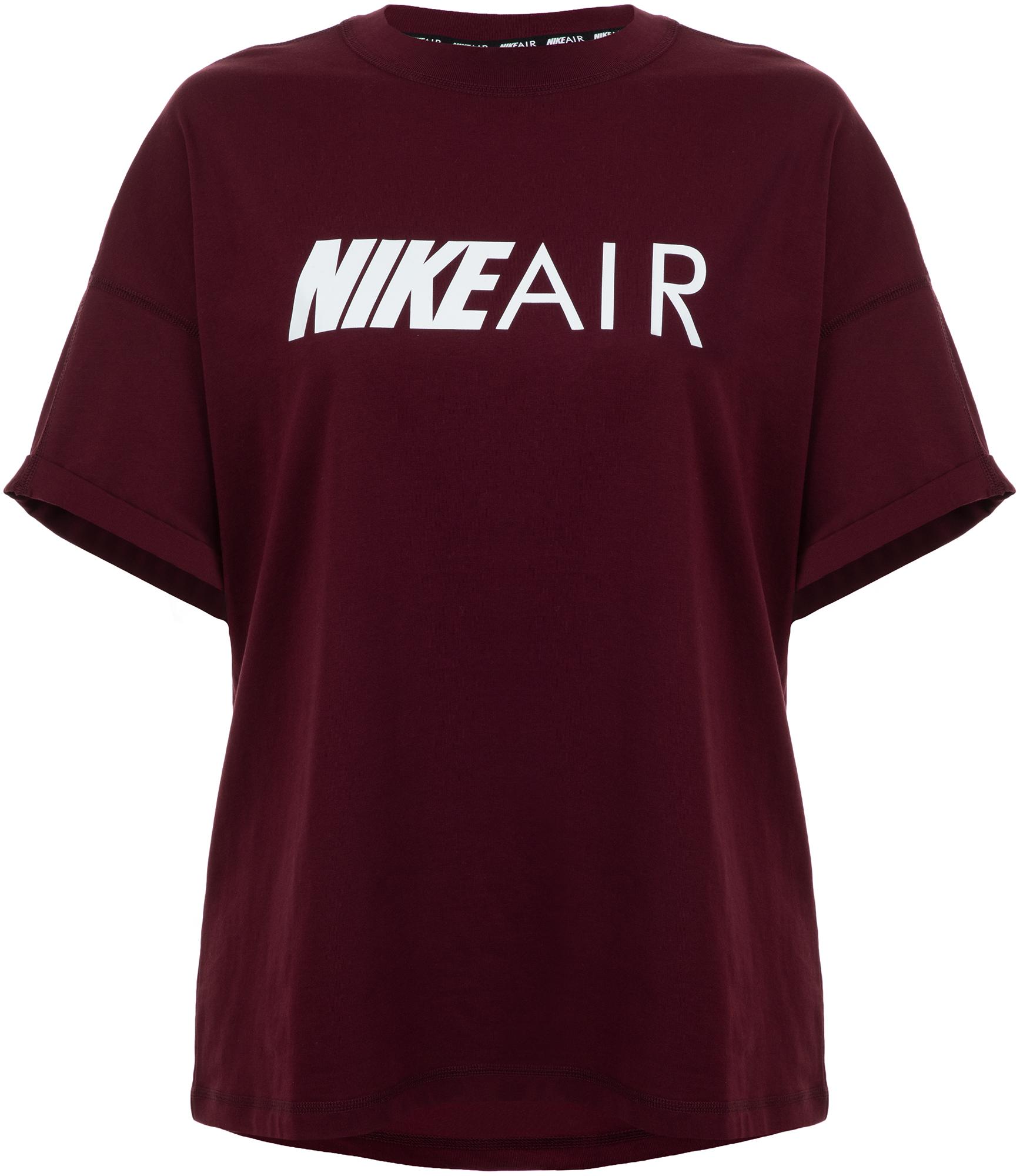 Nike Футболка женская Nike Air, размер 42-44 футболка женская oodji цвет светло серый 14711002 3 46157 2019z размер xs 42