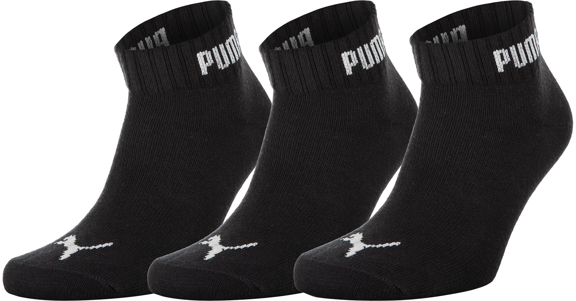 Puma Носки Puma Quarter-V, 3 пары, размер 43-46 puma tx 3 filtered wn s