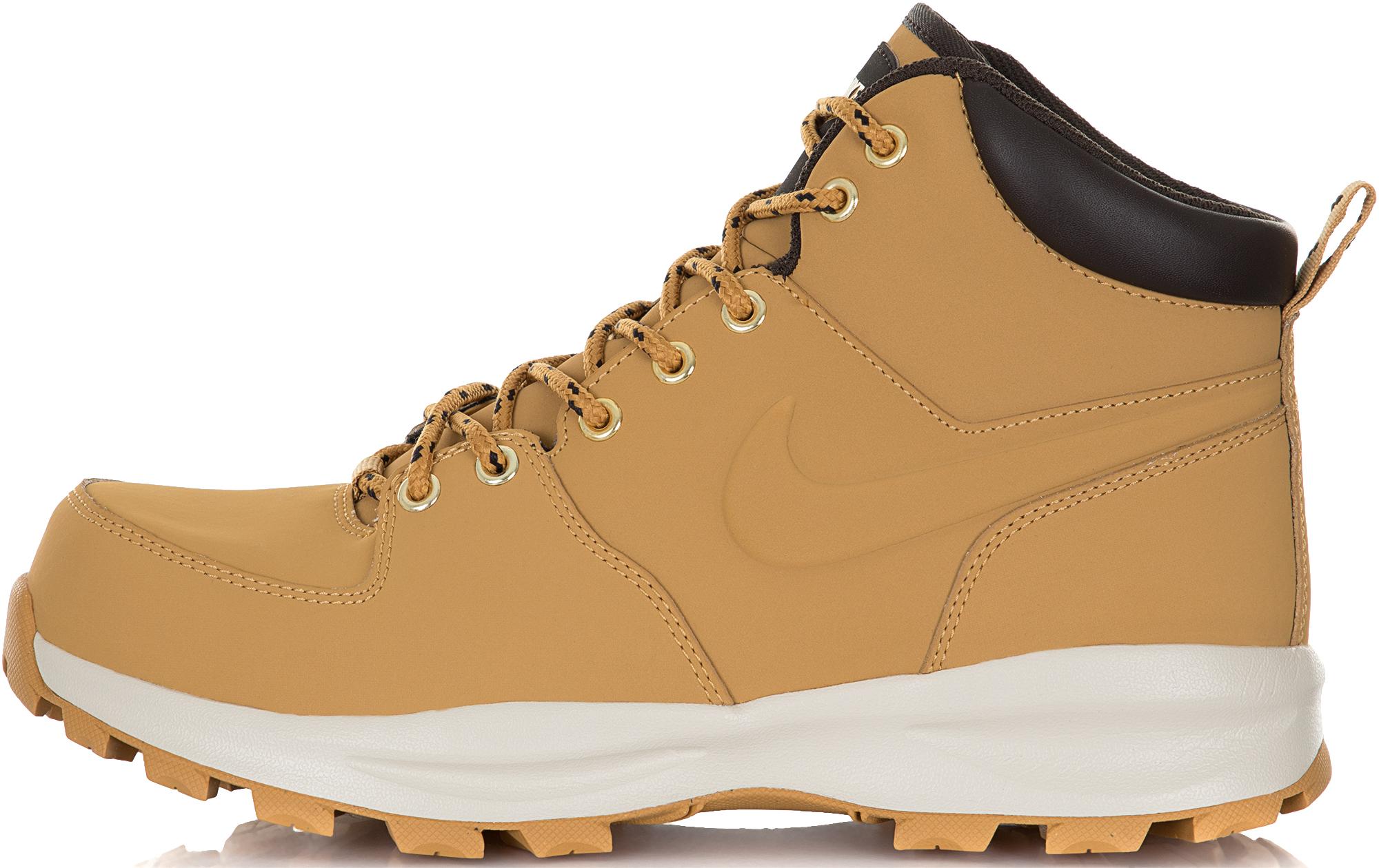 цена Nike Кроссовки утепленные мужские Nike Manoa Leather, размер 41 онлайн в 2017 году