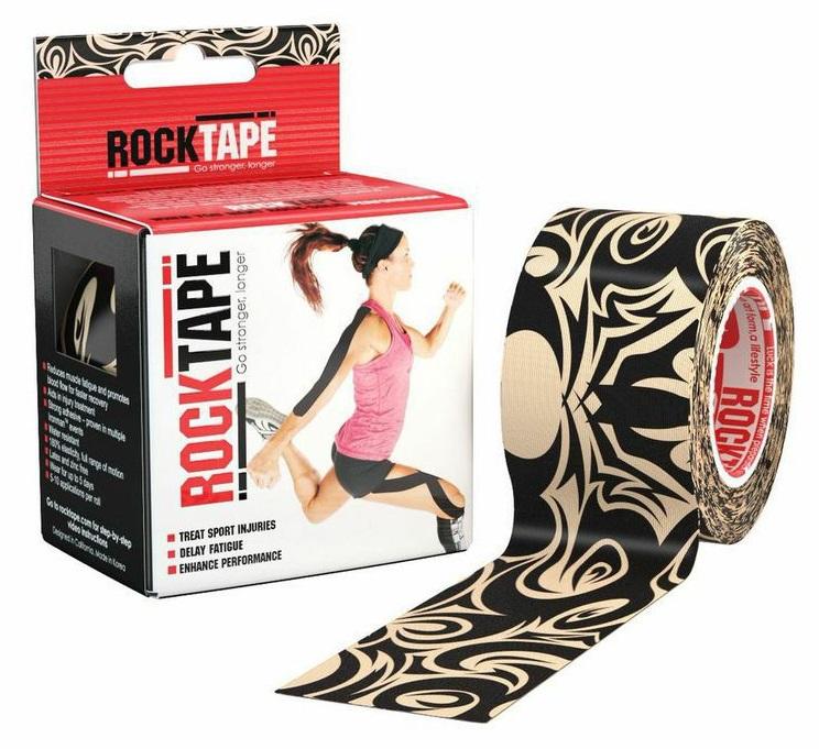 RockTape Кинезио-тейп 5 см х м, тату