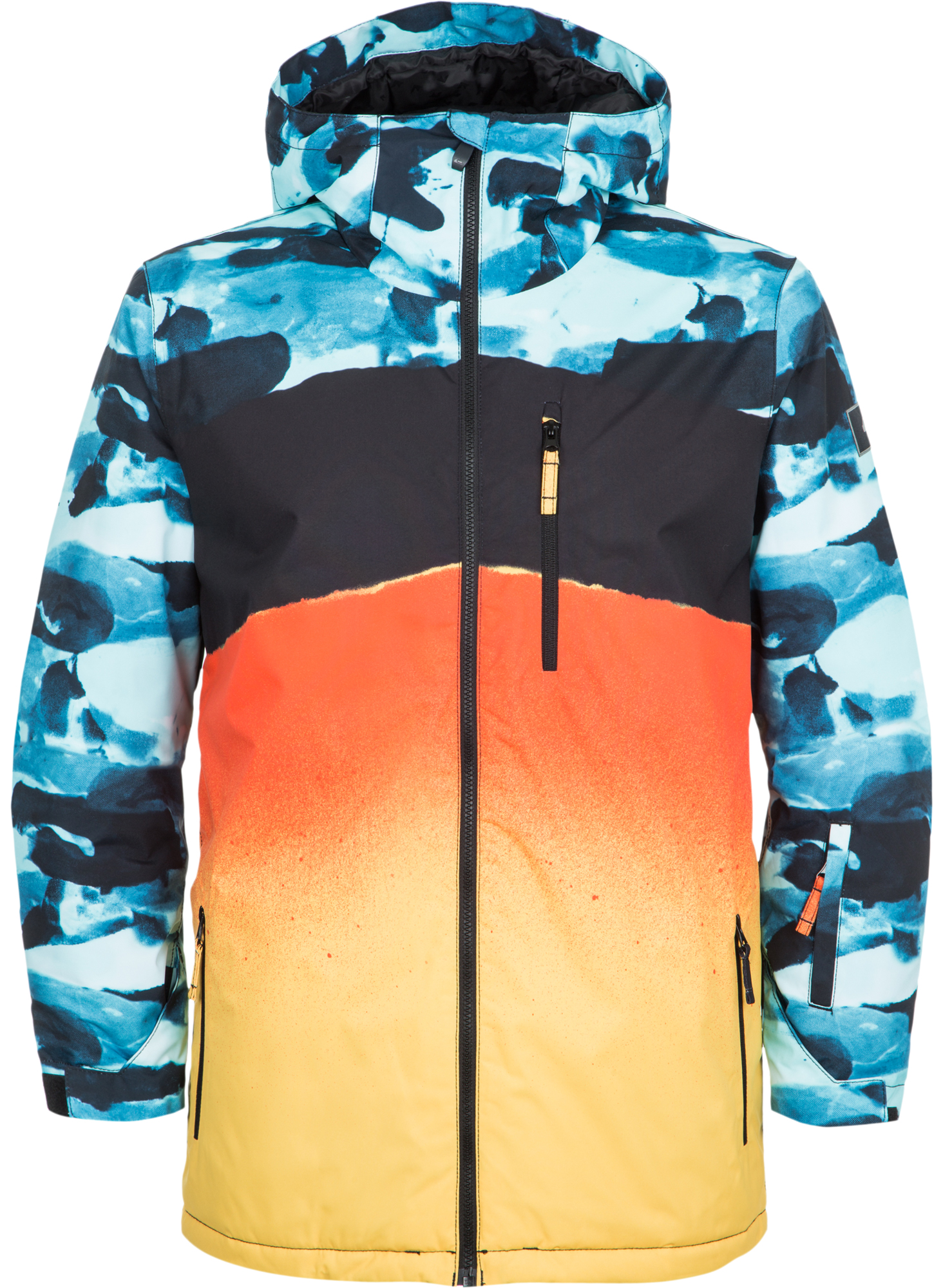 Quiksilver Куртка утепленная мужская Quiksilver Mission Engineered quiksilver qu192bmvnw64