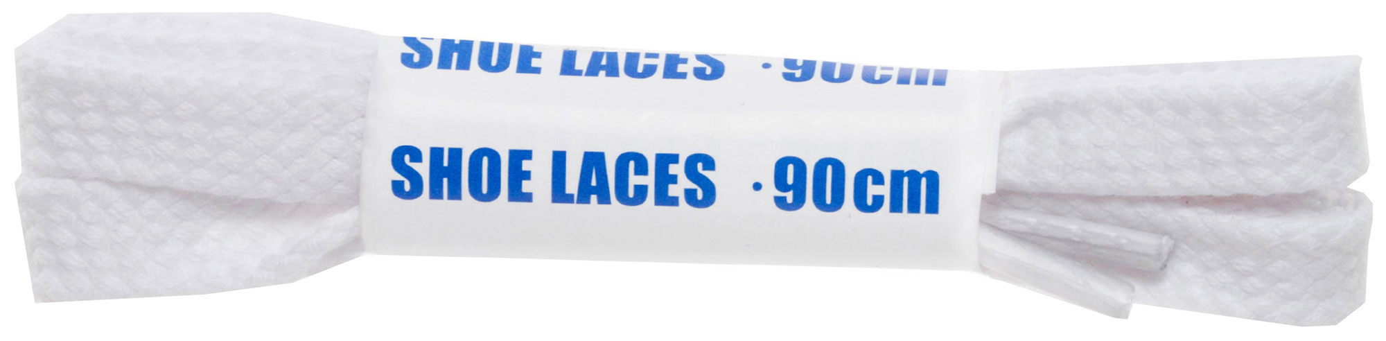 Woly Шнурки белые плоские Sport, 90 см