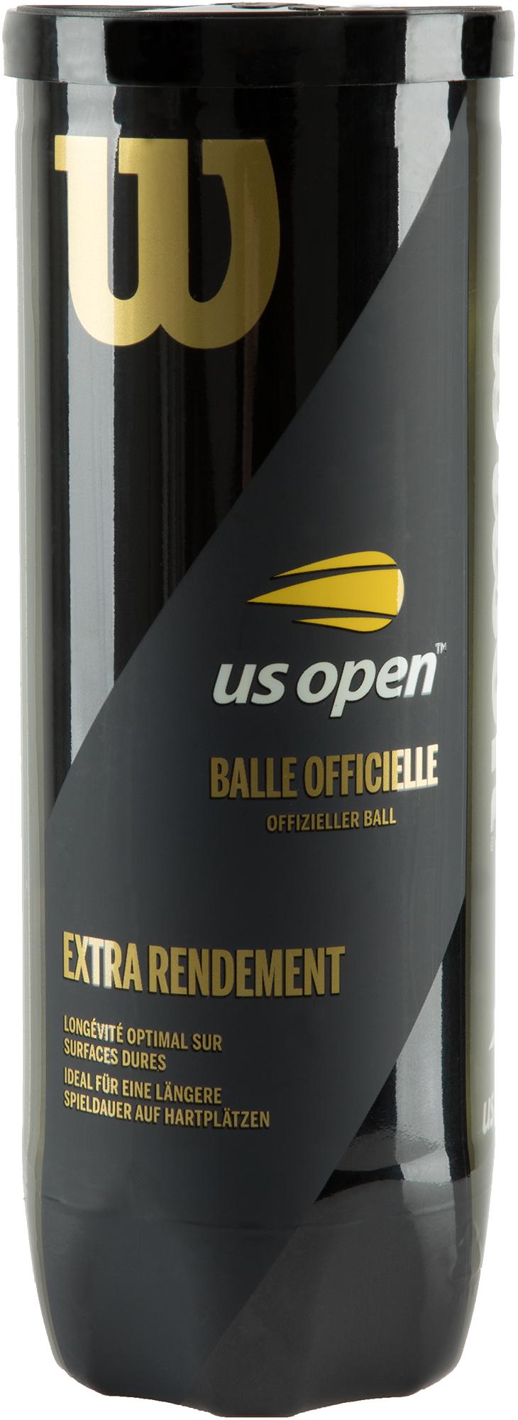 Wilson Набор мячей для большого тенниса Wilson US Open X3 wilson набор мячей для большого тенниса wilson australian open 3 ball can размер без размера
