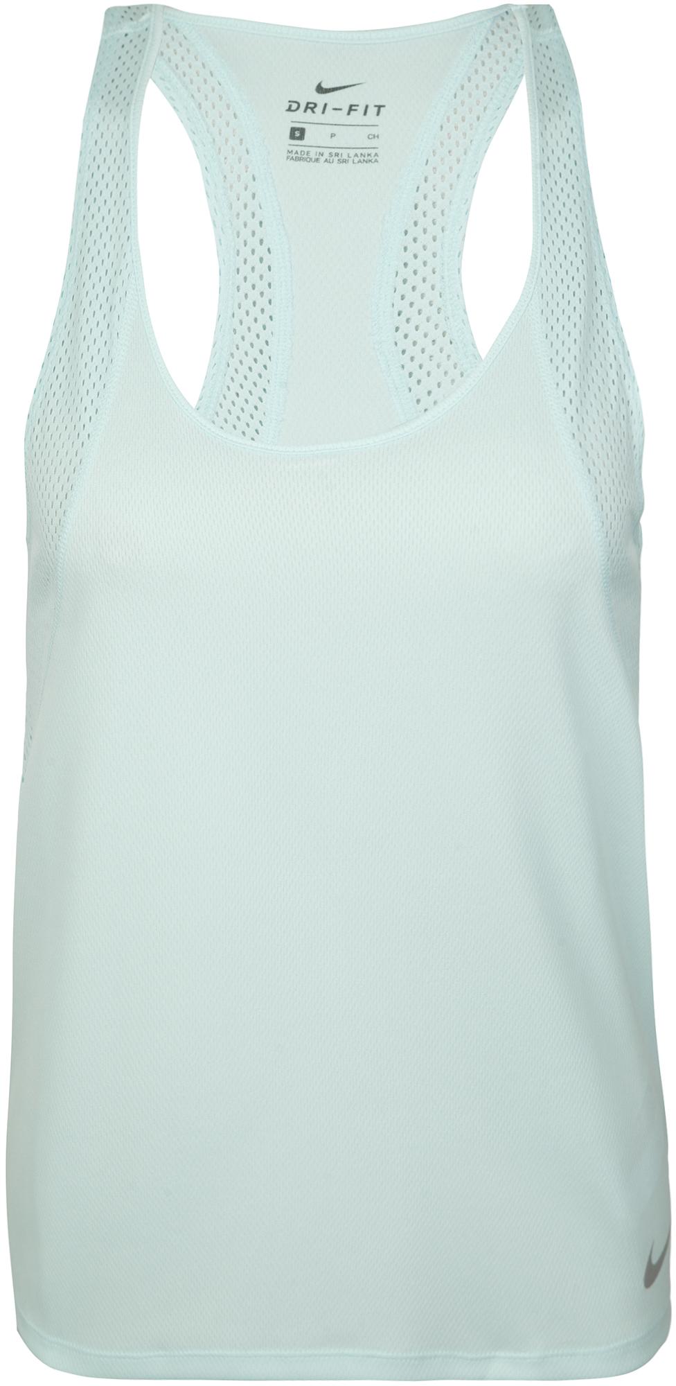 Nike Майка женская Nike Running, размер 46-48 nike майка женская nike dry