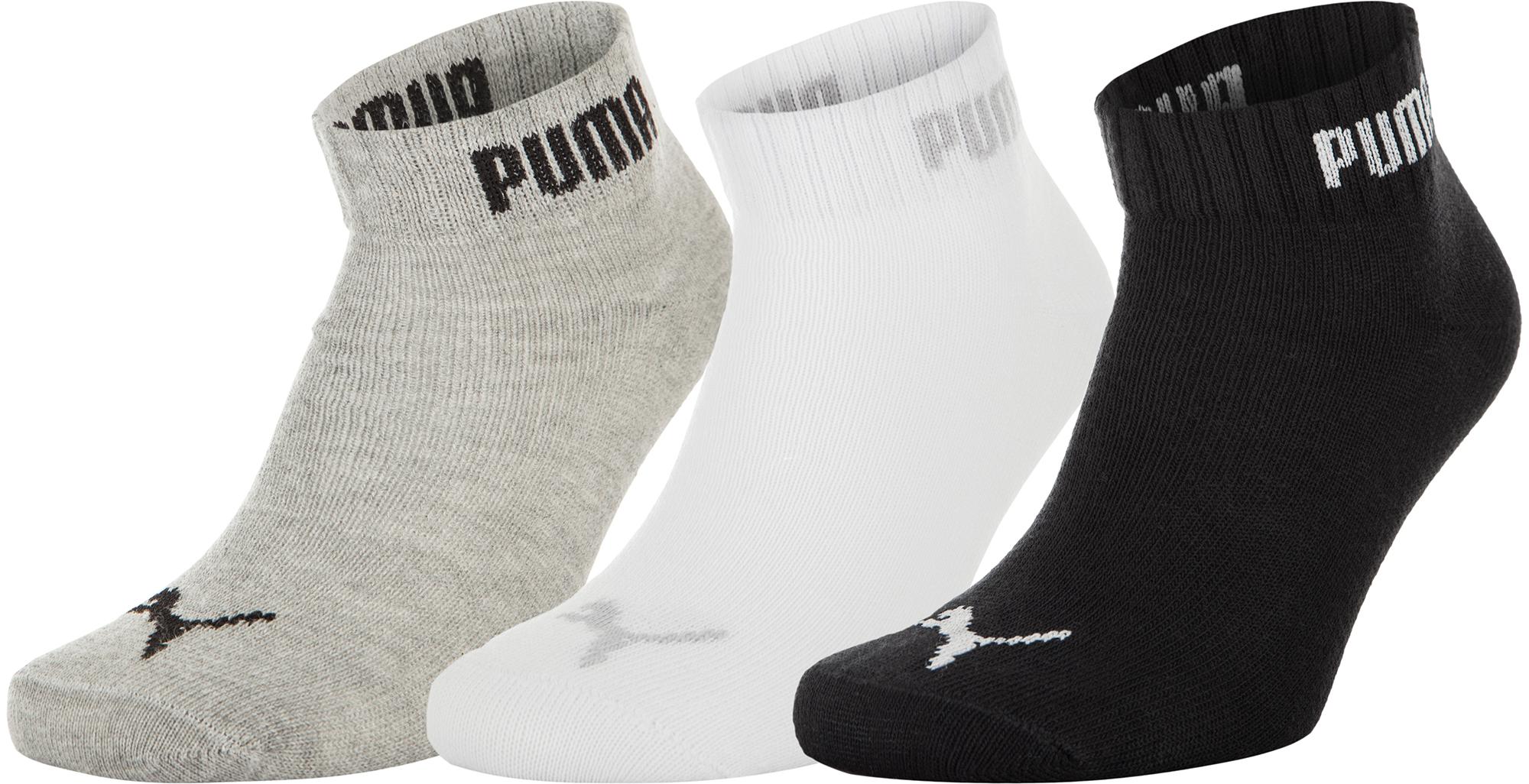 Puma Носки  Quarter-V, 3 пары, размер 43-46