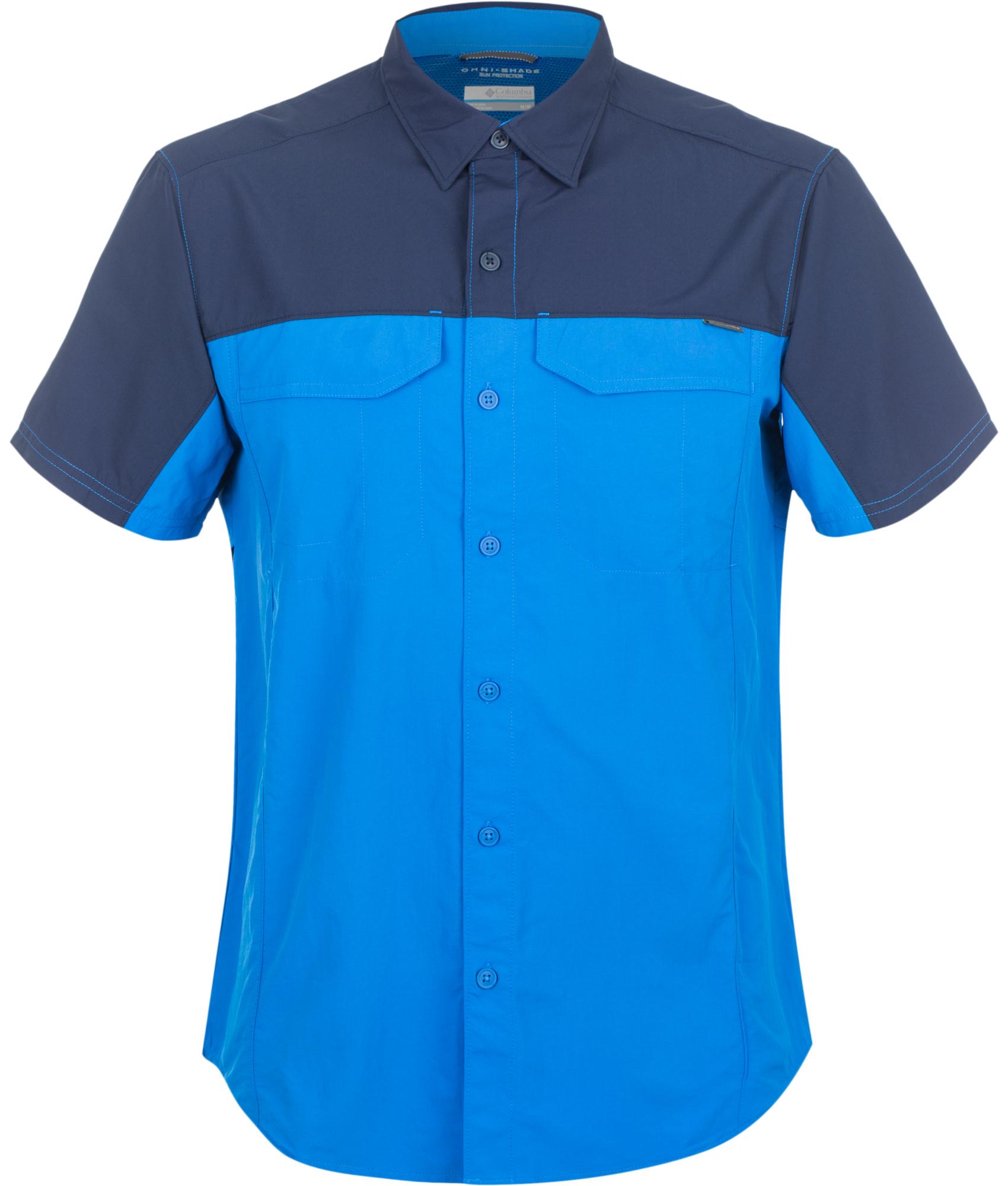 цена на Columbia Рубашка мужская Columbia Silver Ridge Blocked, размер 48-50