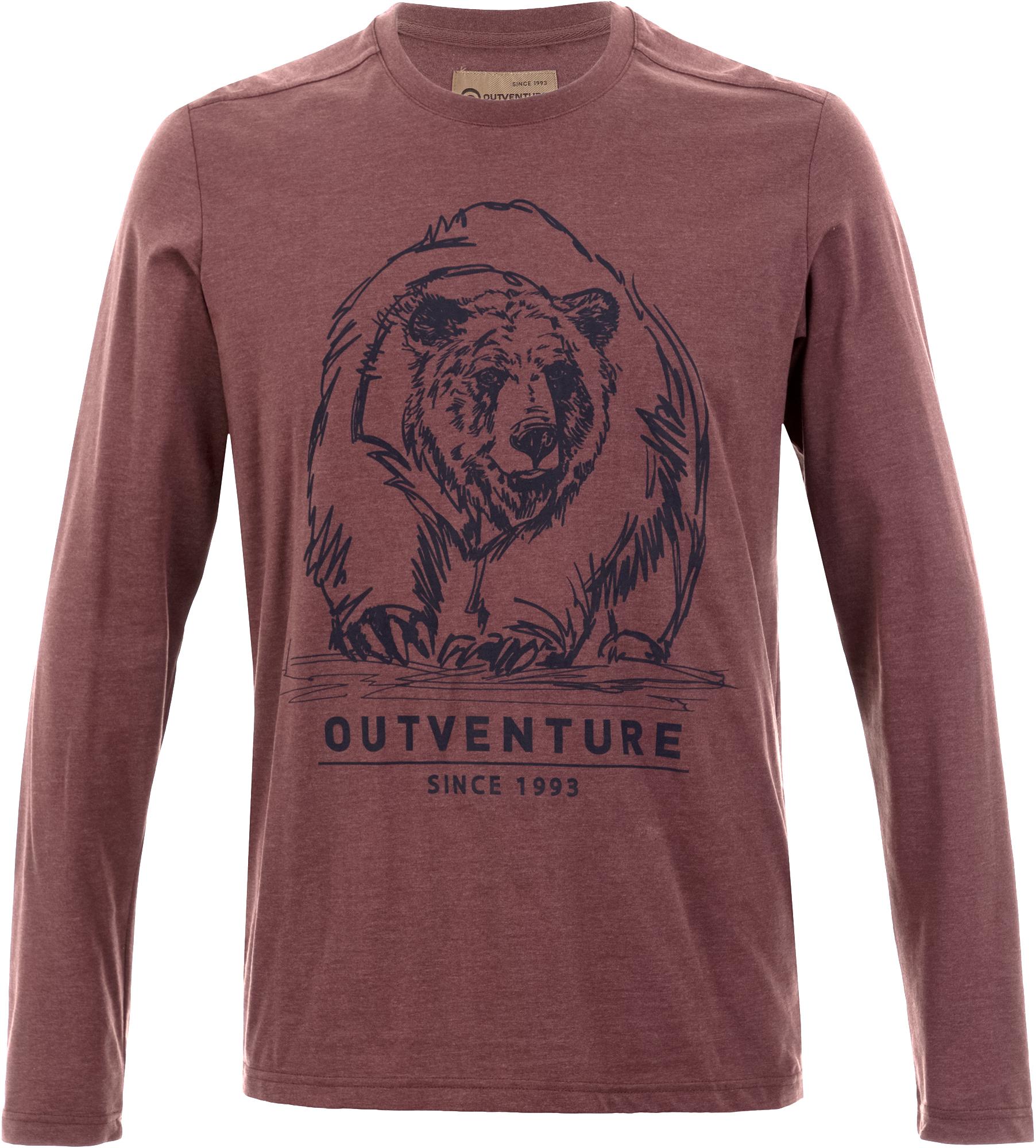цена на Outventure Лонгслив мужской Outventure, размер 58