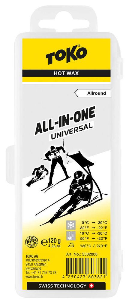 Toko Мазь скольжения TOKO All-In-One Universal Hot Wax Allround недорого