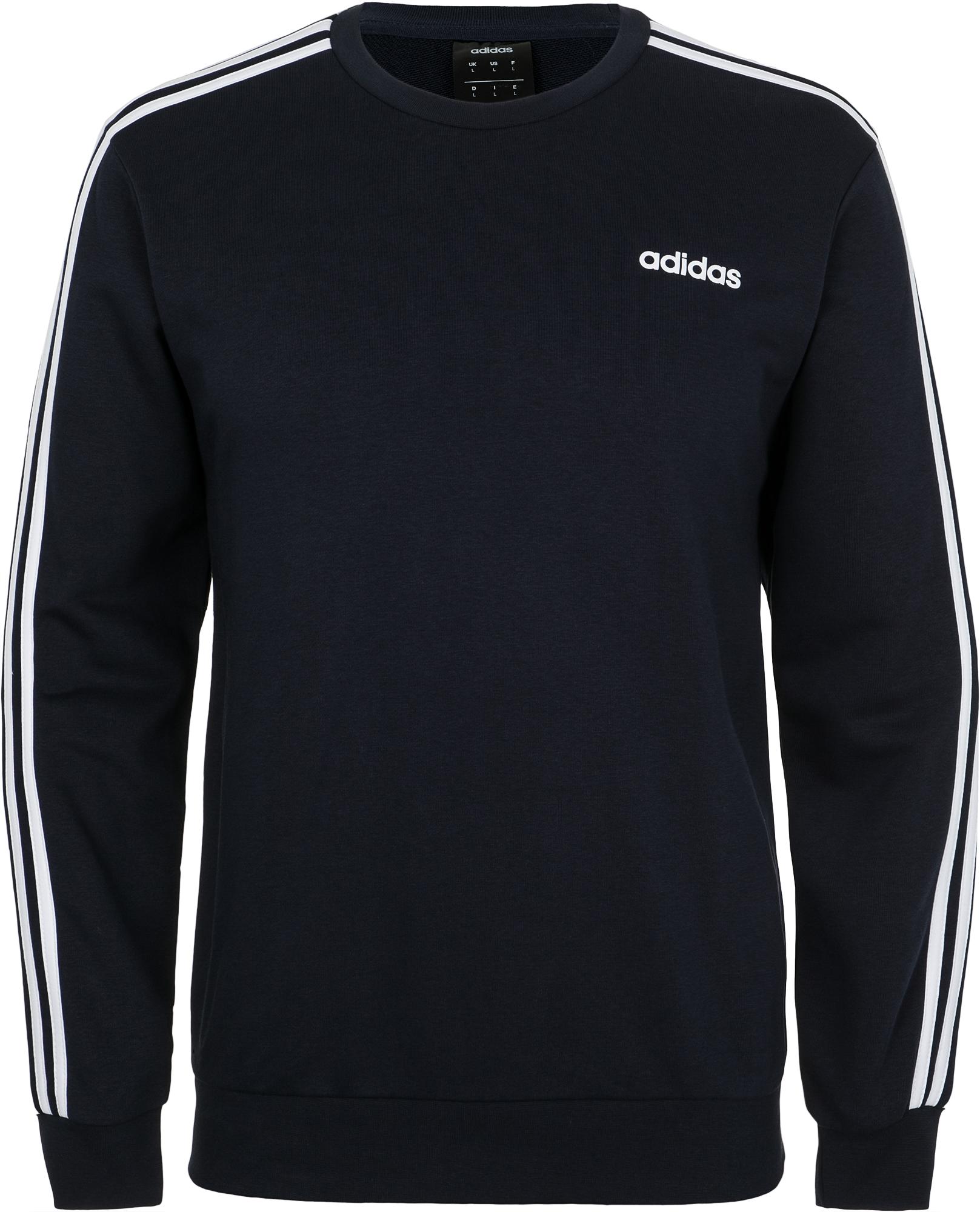 Adidas Свитшот мужской Adidas Essential 3-Stripes Crew, размер 54 цены онлайн
