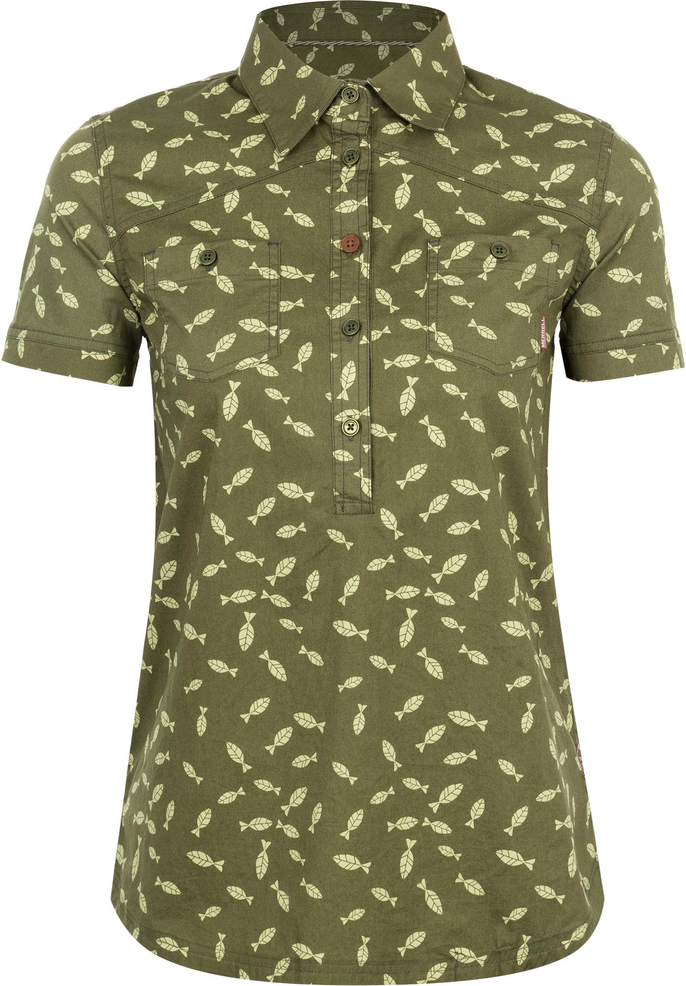 Merrell Рубашка женская Merrell merrell рубашка с длинным рукавом женская merrell cilicia