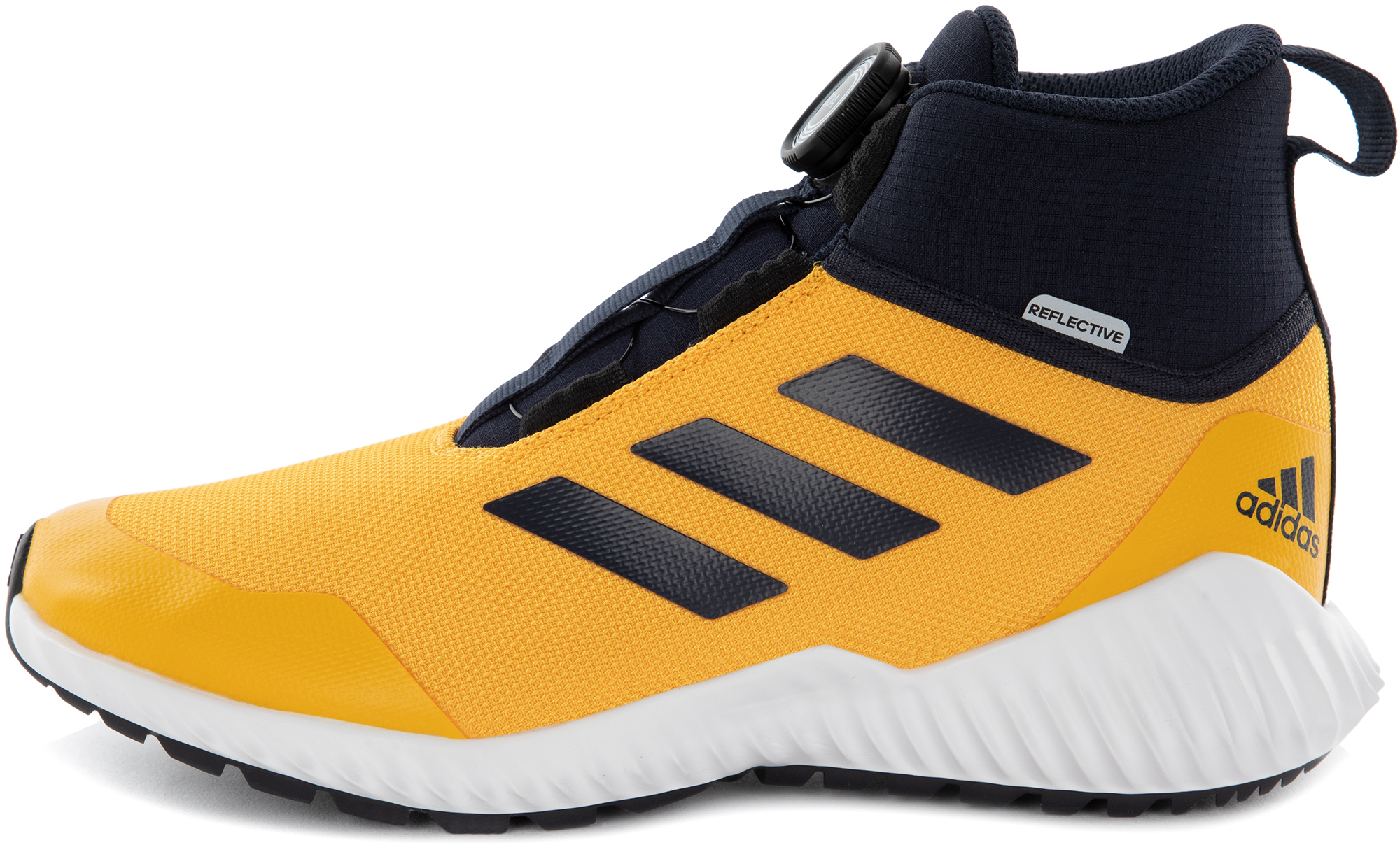 цена Adidas Кроссовки детские утепленные Adidas FortaTrail BOA, размер 38,5 онлайн в 2017 году