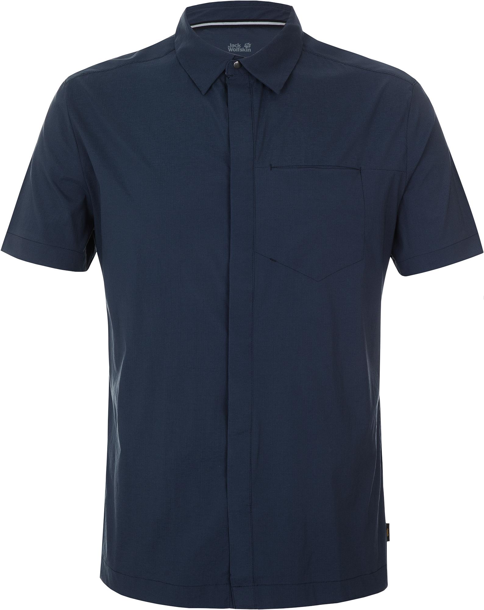 Jack Wolfskin Рубашка мужская JACK WOLFSKIN, размер 58
