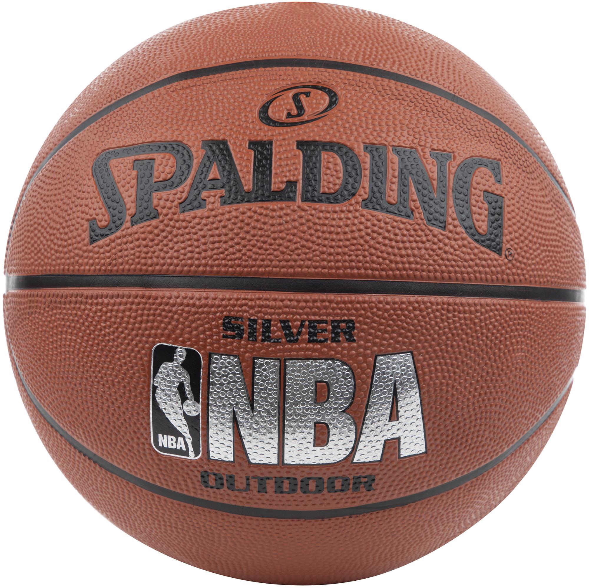 цена на Spalding Мяч баскетбольный Spalding NBA Silver
