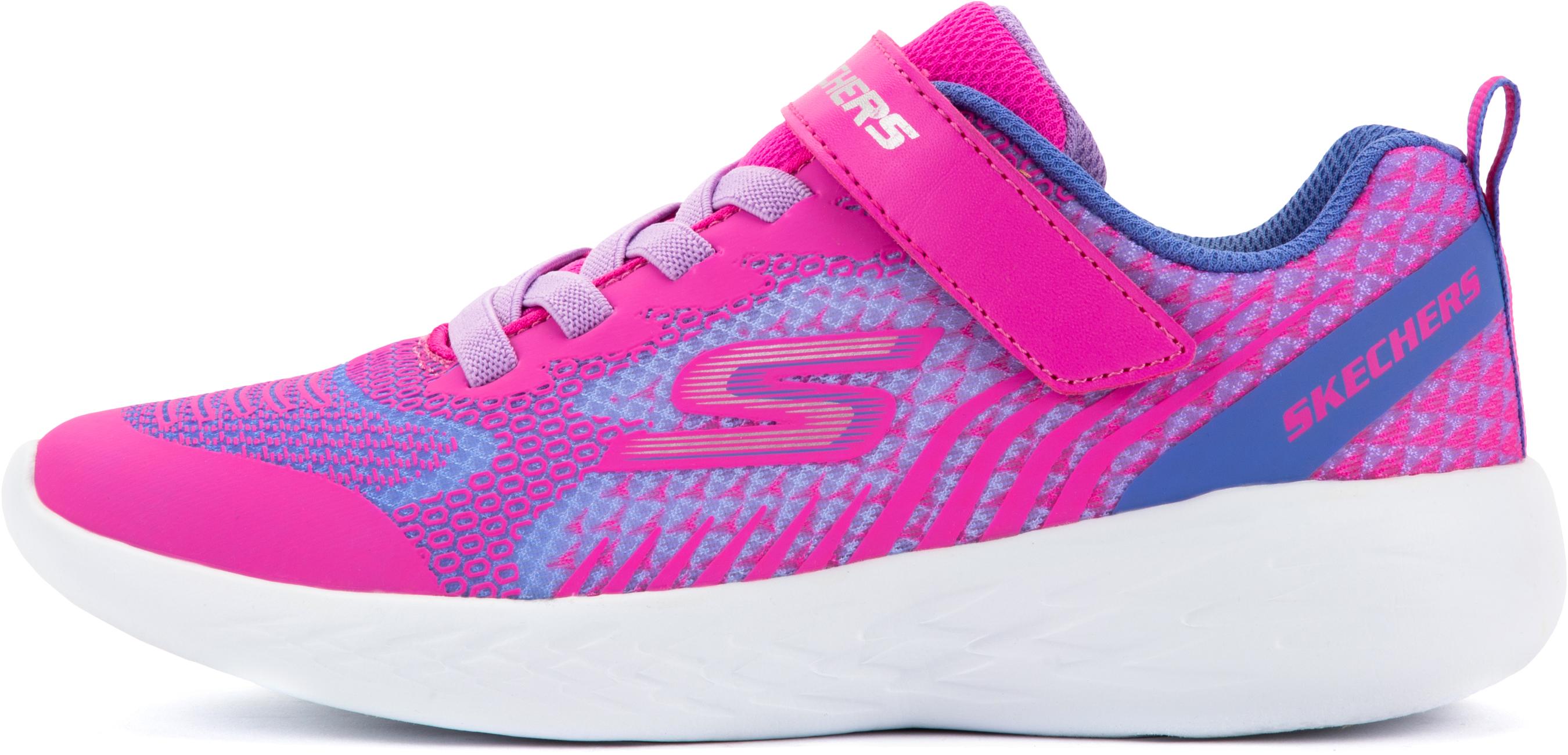 skechers кроссовки для девочек skechers go run 600 sparkle speed размер 38 Skechers Полуботинки для девочек Skechers Go Run 600-Radiant Runner, размер 33