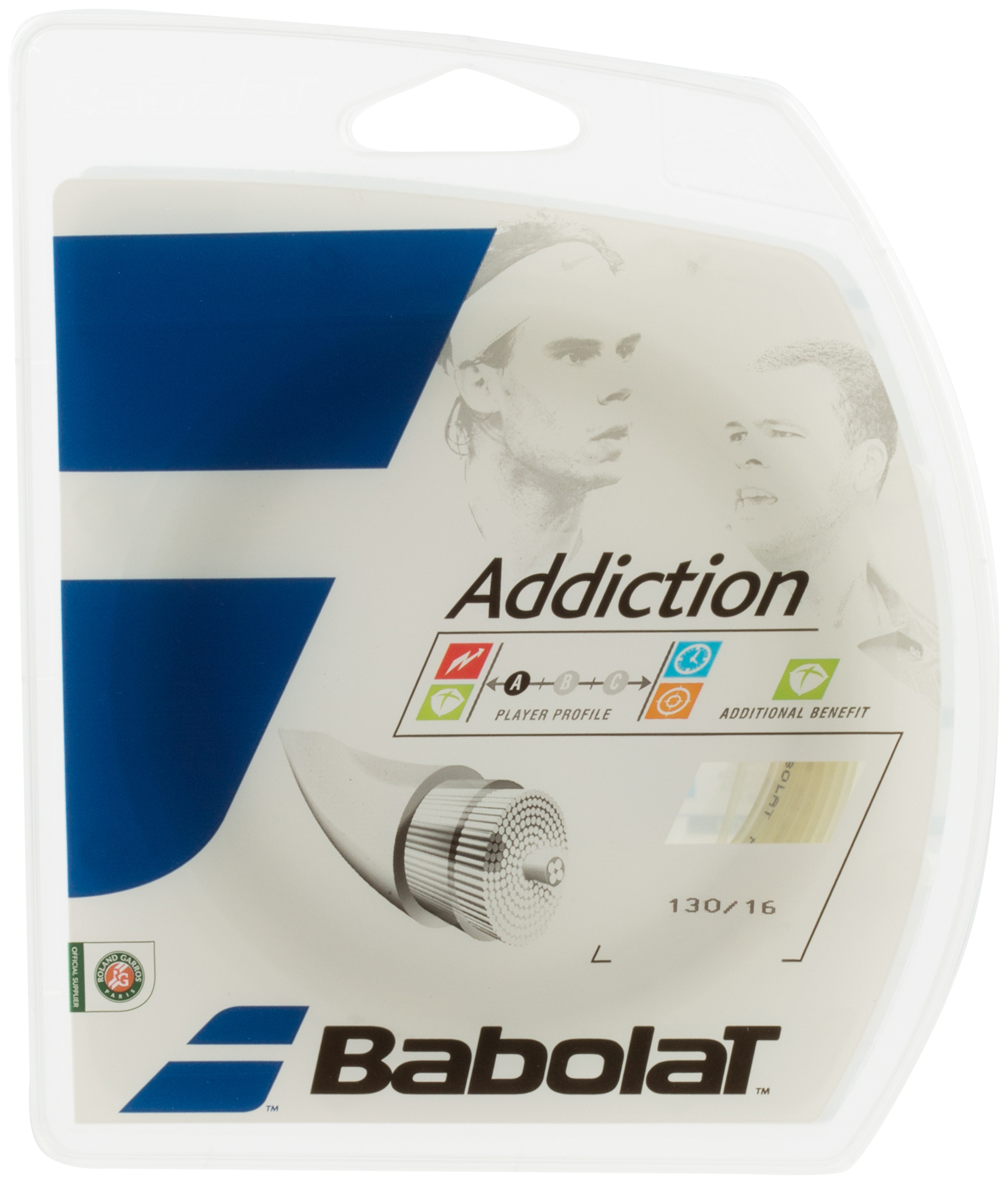 лучшая цена Babolat Струна Babolat Addiction