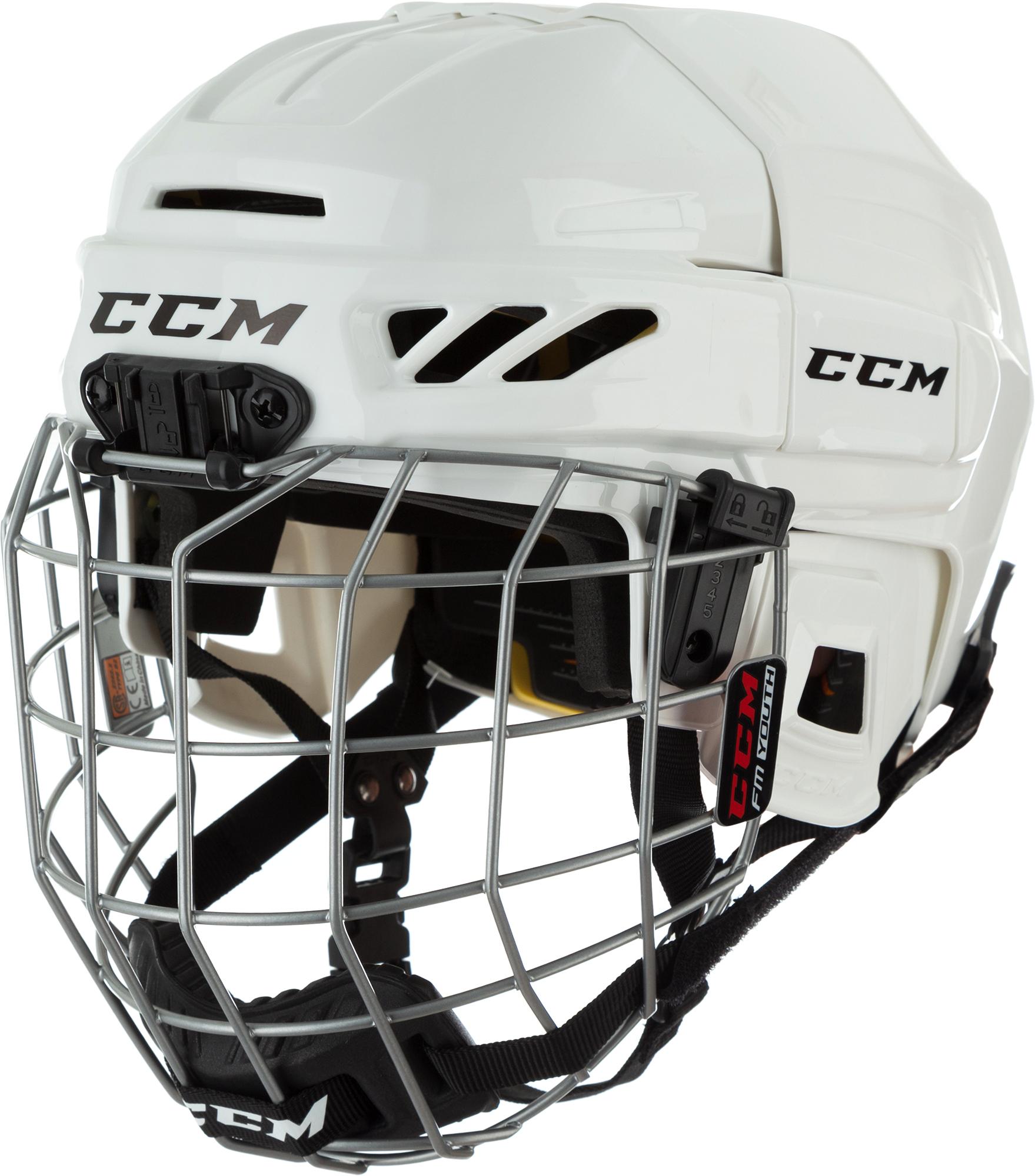 CCM Шлем хоккейный с маской детский CCM Ht Fitlite 3Ds Youth