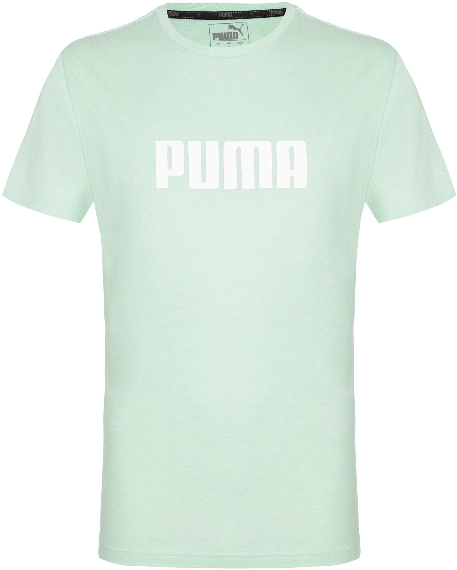 Puma Футболка мужская Puma ESS+ Heather Tee, размер 52-54 футболка женская puma ess no 1 tee heather w цвет синий 83839920 размер s 42 44