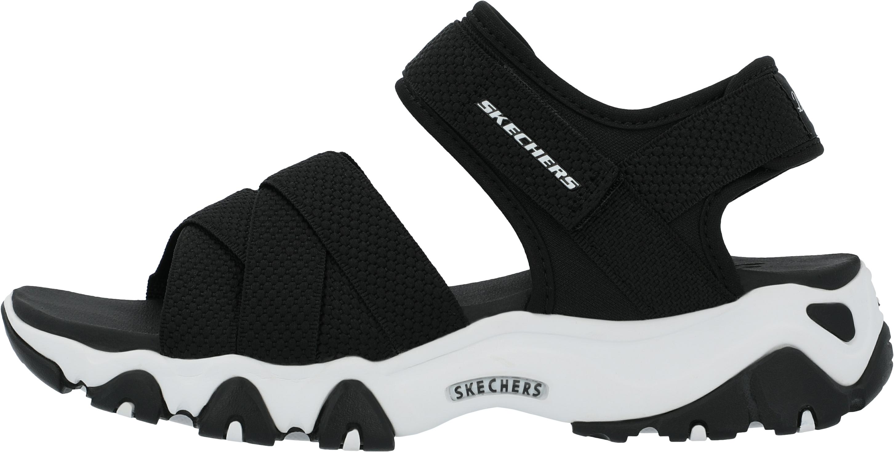Сандалии женские Skechers D'Lites 2.0 Mega Summer, размер 37.5