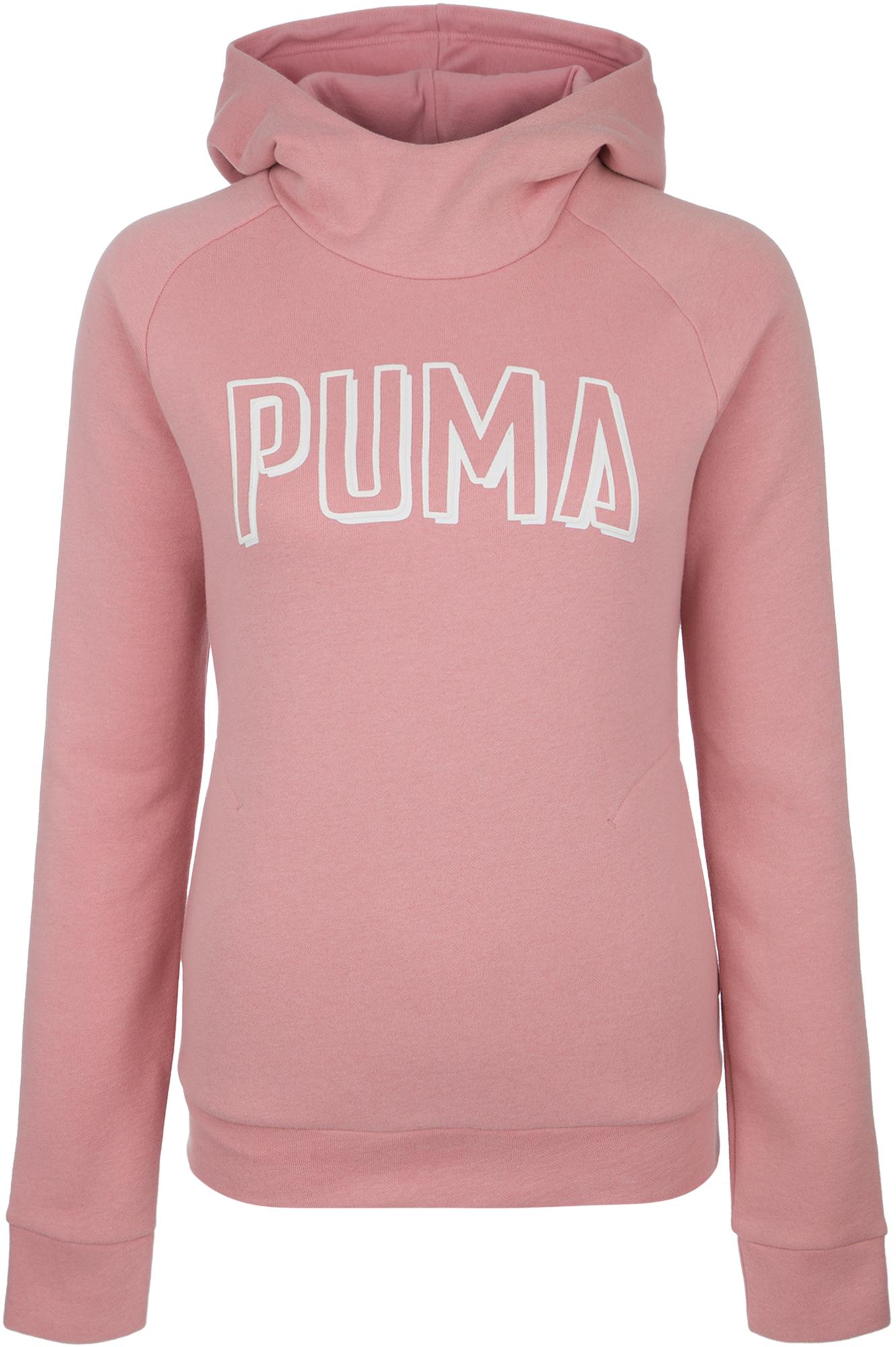 PUMA Худи женская Puma Athletics, размер 40-42 худи puma puma pu053ewamvy2