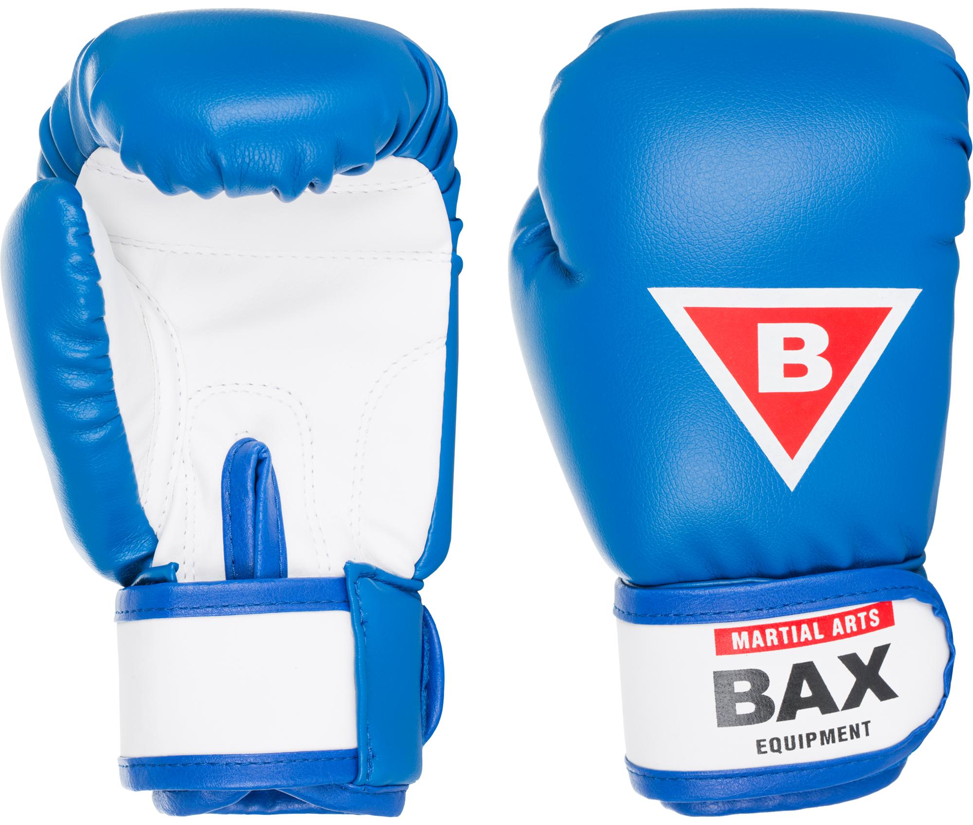 Bax Перчатки боксерские детские BAX, размер 4 oz цена