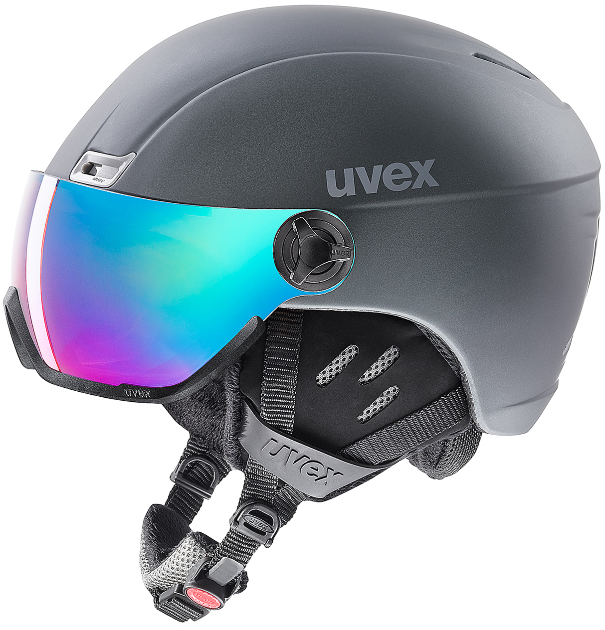 Uvex Шлем 400 Visor Style