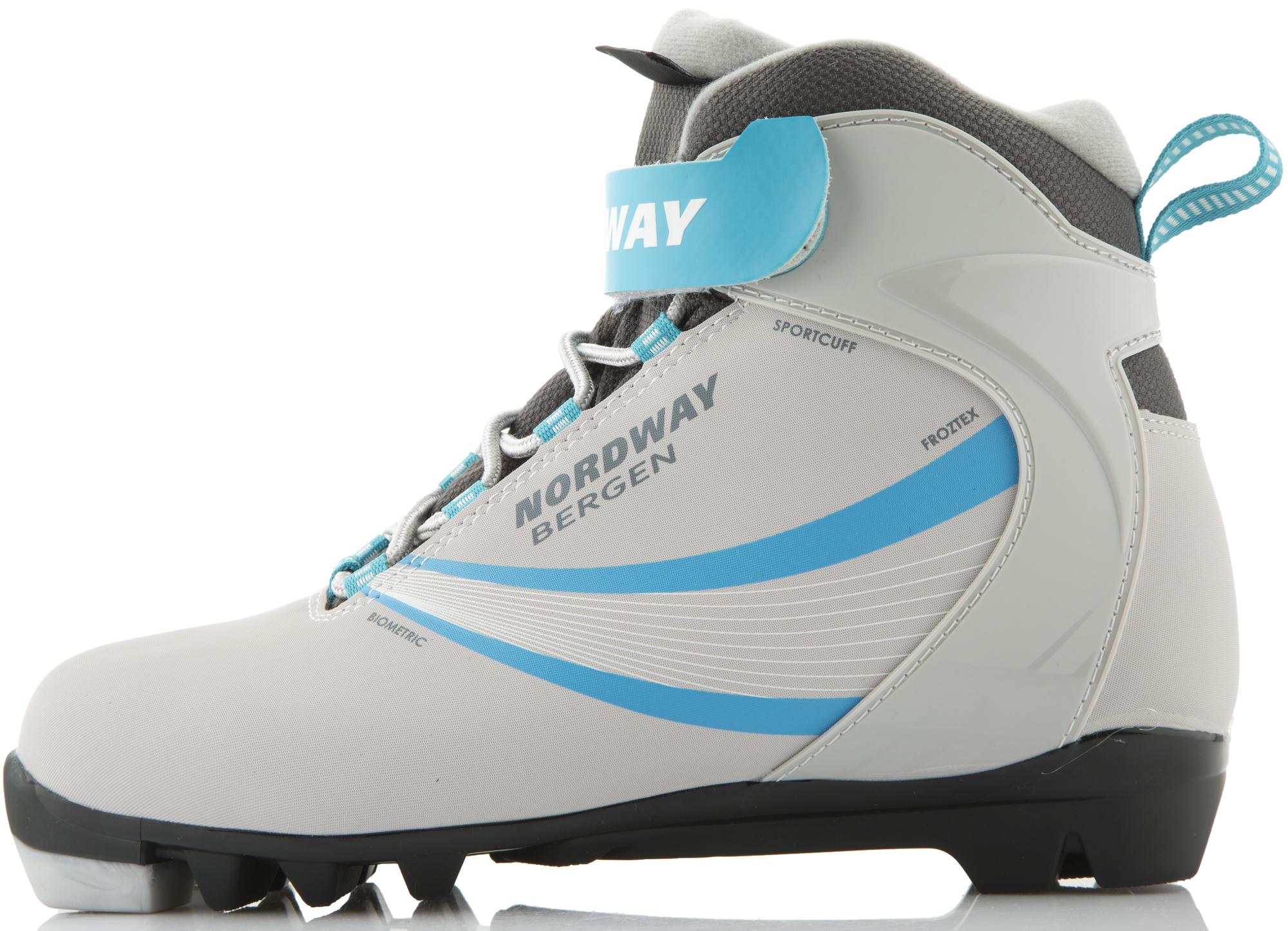 Nordway Ботинки для беговых лыж женские Nordway Bergen палки для беговых лыж женские nordway vega