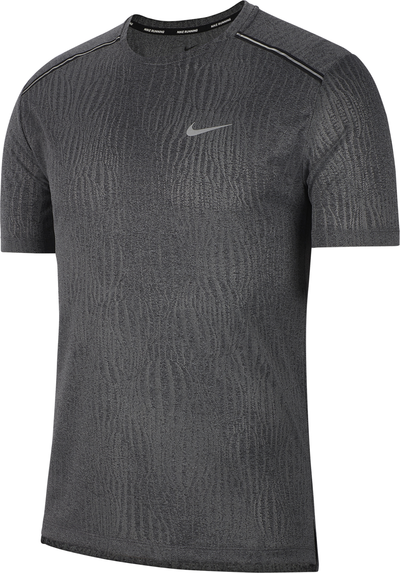Nike Футболка мужская Nike Dri-FIT Miler, размер 46-48 nike ветровка мужская nike nk essntl размер 46 48