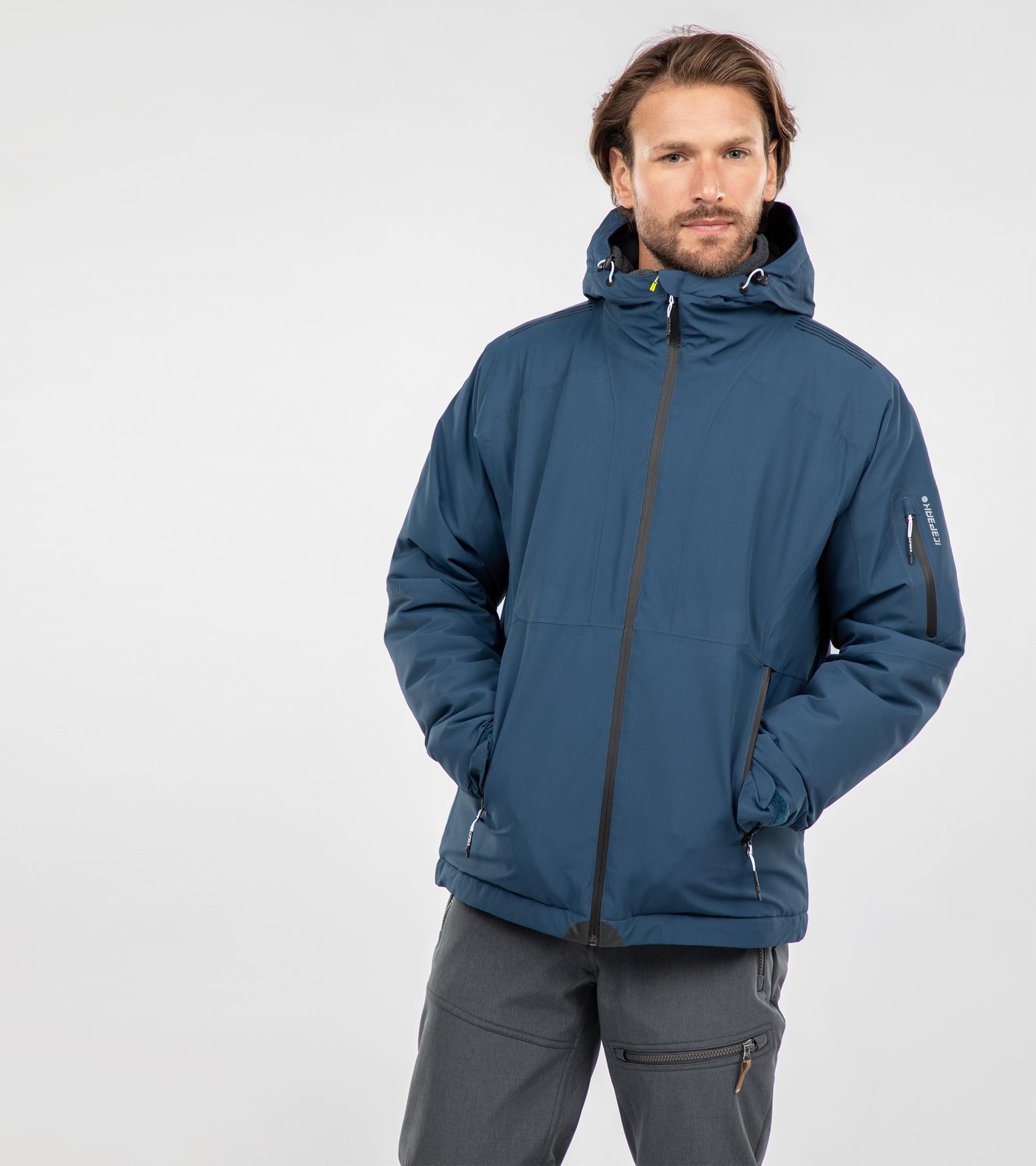 IcePeak Куртка утепленная мужская IcePeak Pierpont, размер 56 цены онлайн