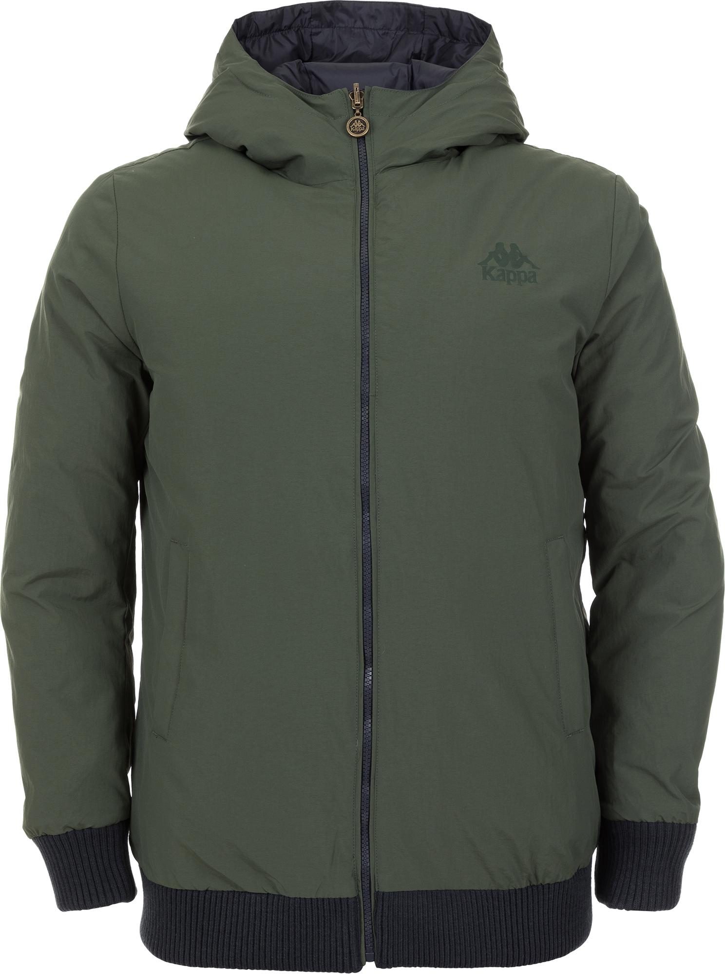 Kappa Куртка утепленная мужская Kappa, размер 52 куртка двусторонняя lily thermo