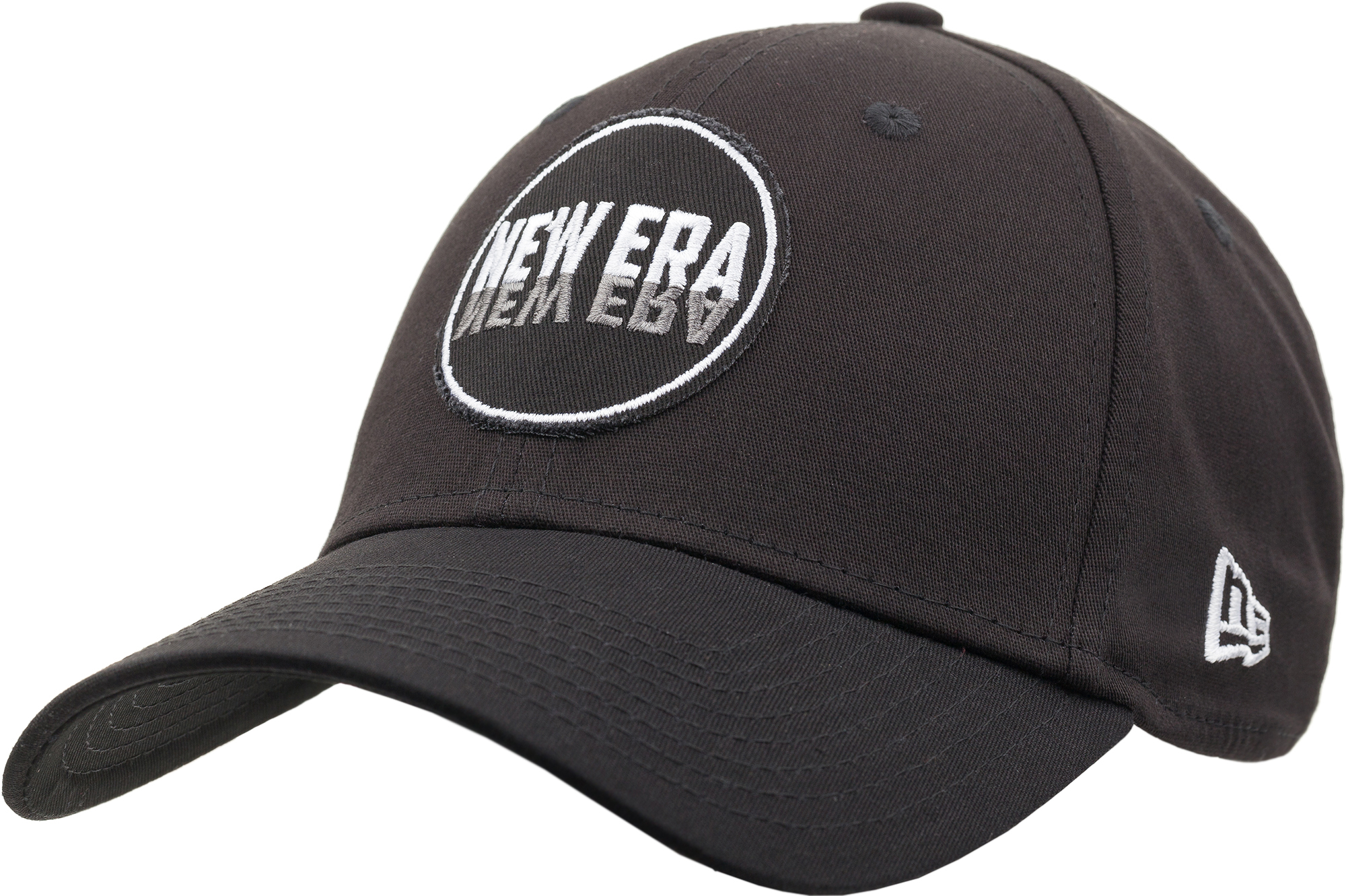 New Era Бейсболка New Era 322 Ne Round Patch 39Thirty, размер 54-57 new era шапка для мальчиков new era ne cuff pom размер 54 55