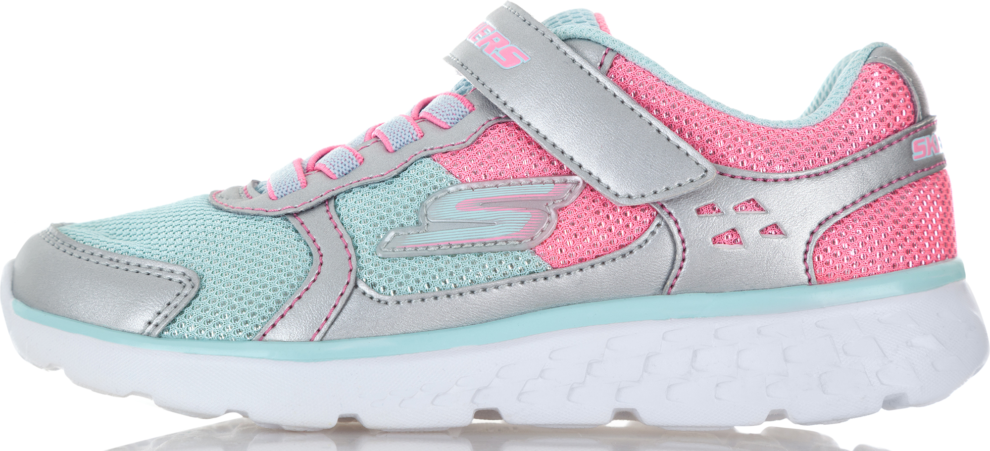 Skechers Кроссовки для девочек Skechers Go Run 400 Sparkle Sprinter