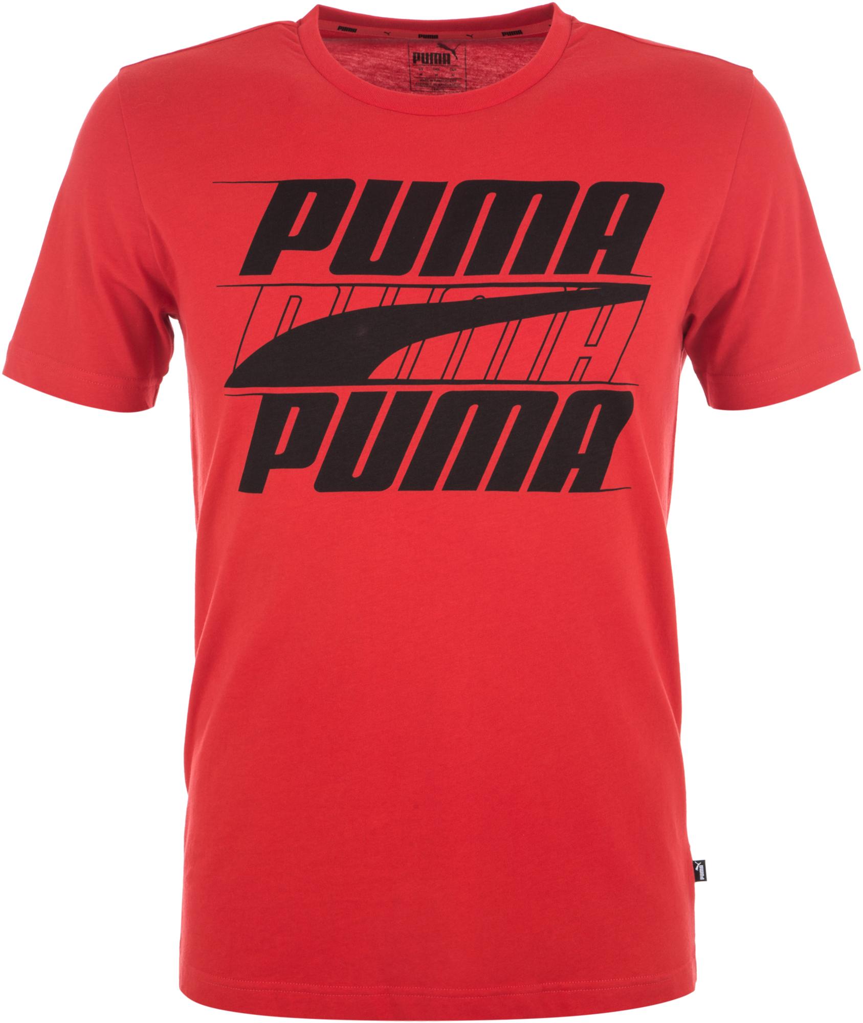 Puma Футболка мужская Puma Rebel, размер 50-52