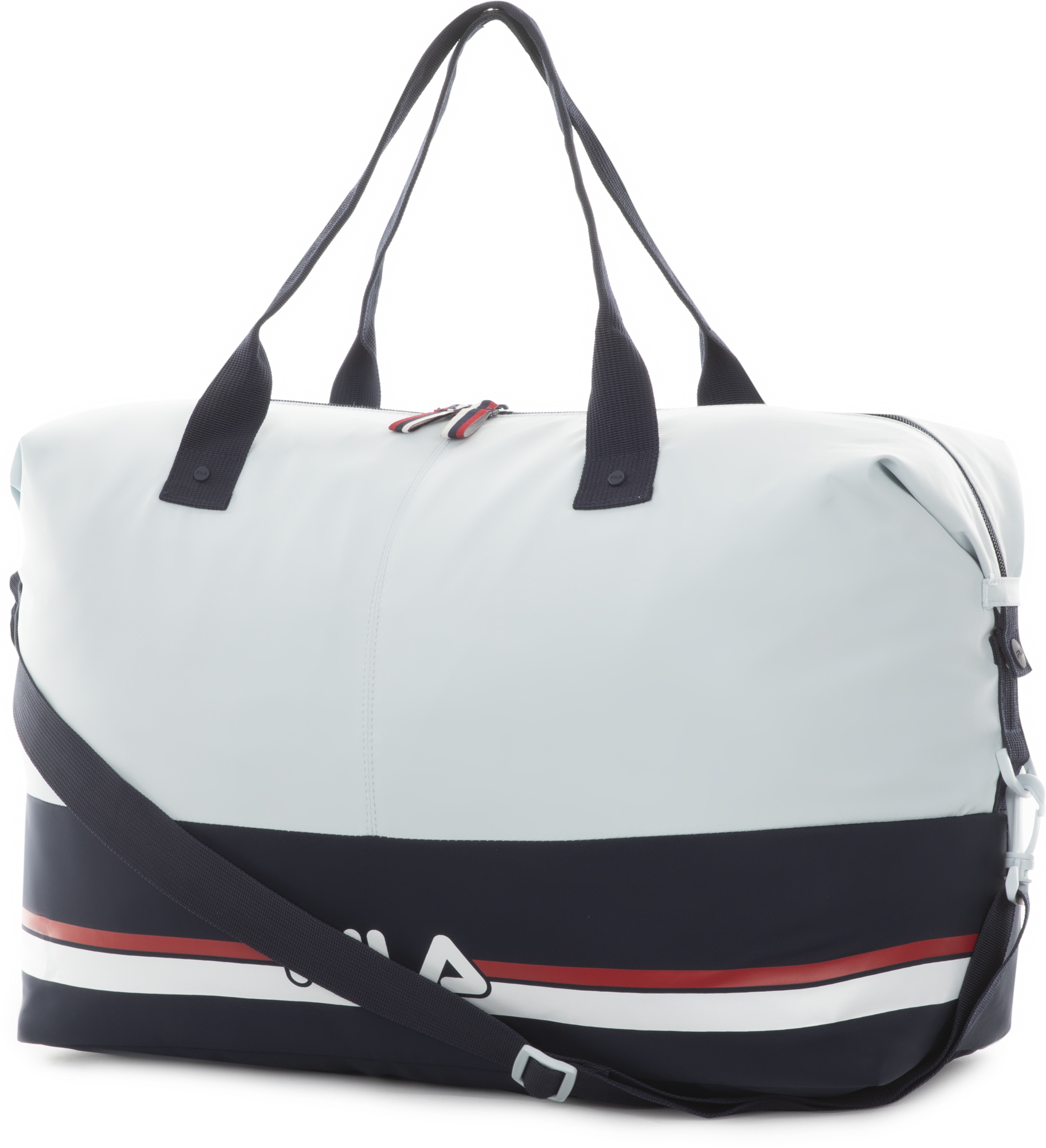 сумка спортивная fila coated bag s19aflacu01 m1 синий FILA Сумка женская FILA