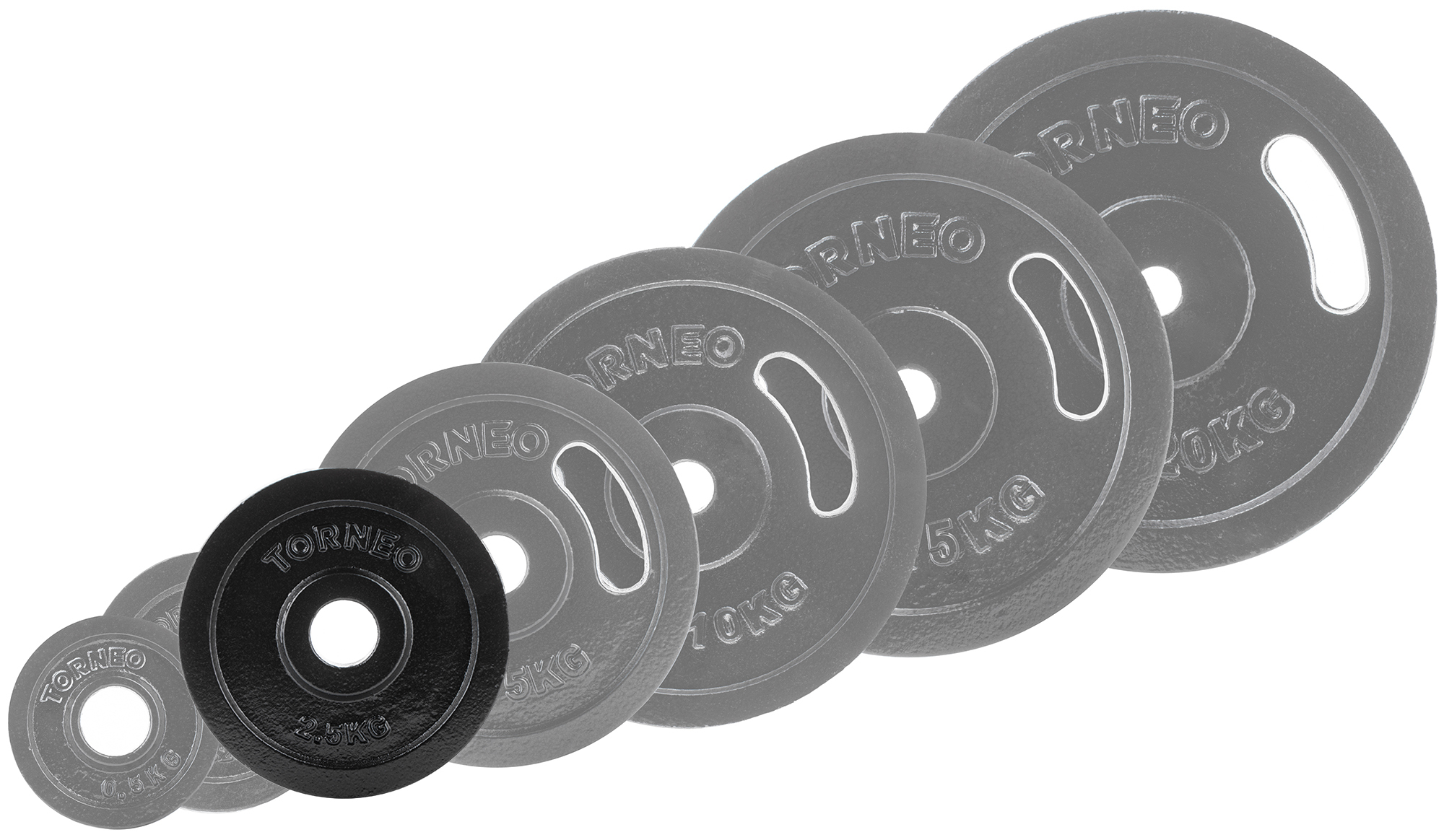 Torneo Блин Torneo стальной, 2,5 кг