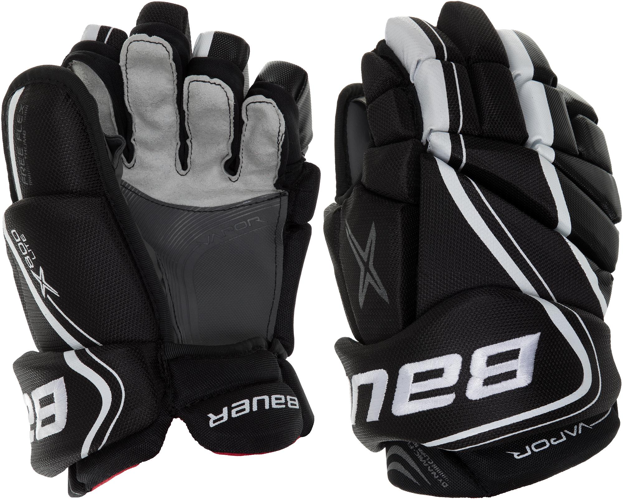 Bauer Перчатки хоккейные Bauer S18 Vapor X800 Lite, размер 12,5 цена 2017
