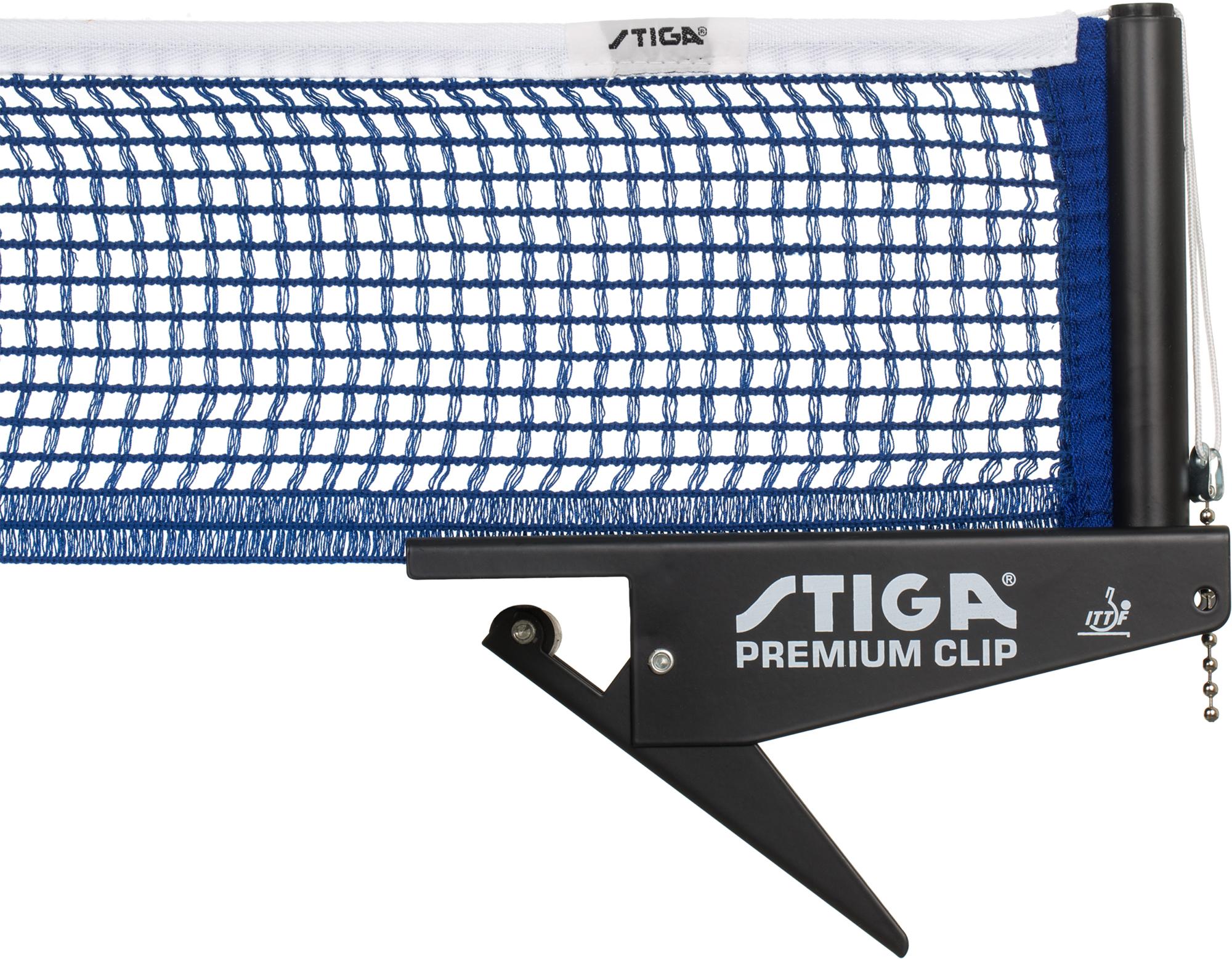 Stiga Сетка для настольного тенниса Stiga Premium Clip цена