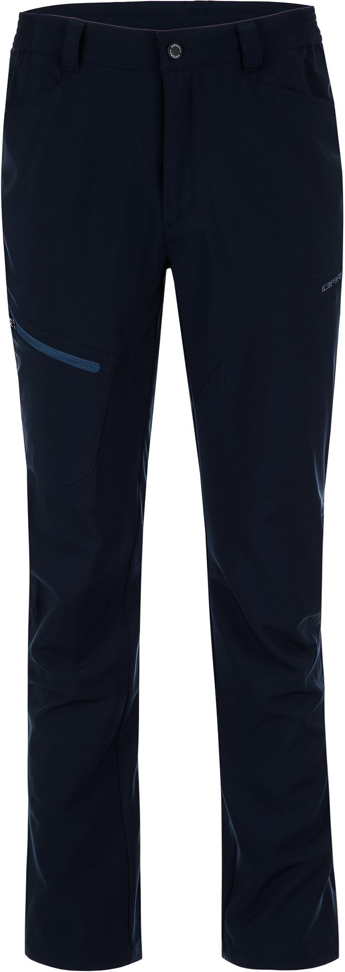 IcePeak Брюки мужские IcePeak Sky, размер 54 брюки мужские sela цвет темно серый меланж pk 2415 012 8310 размер xxl 54