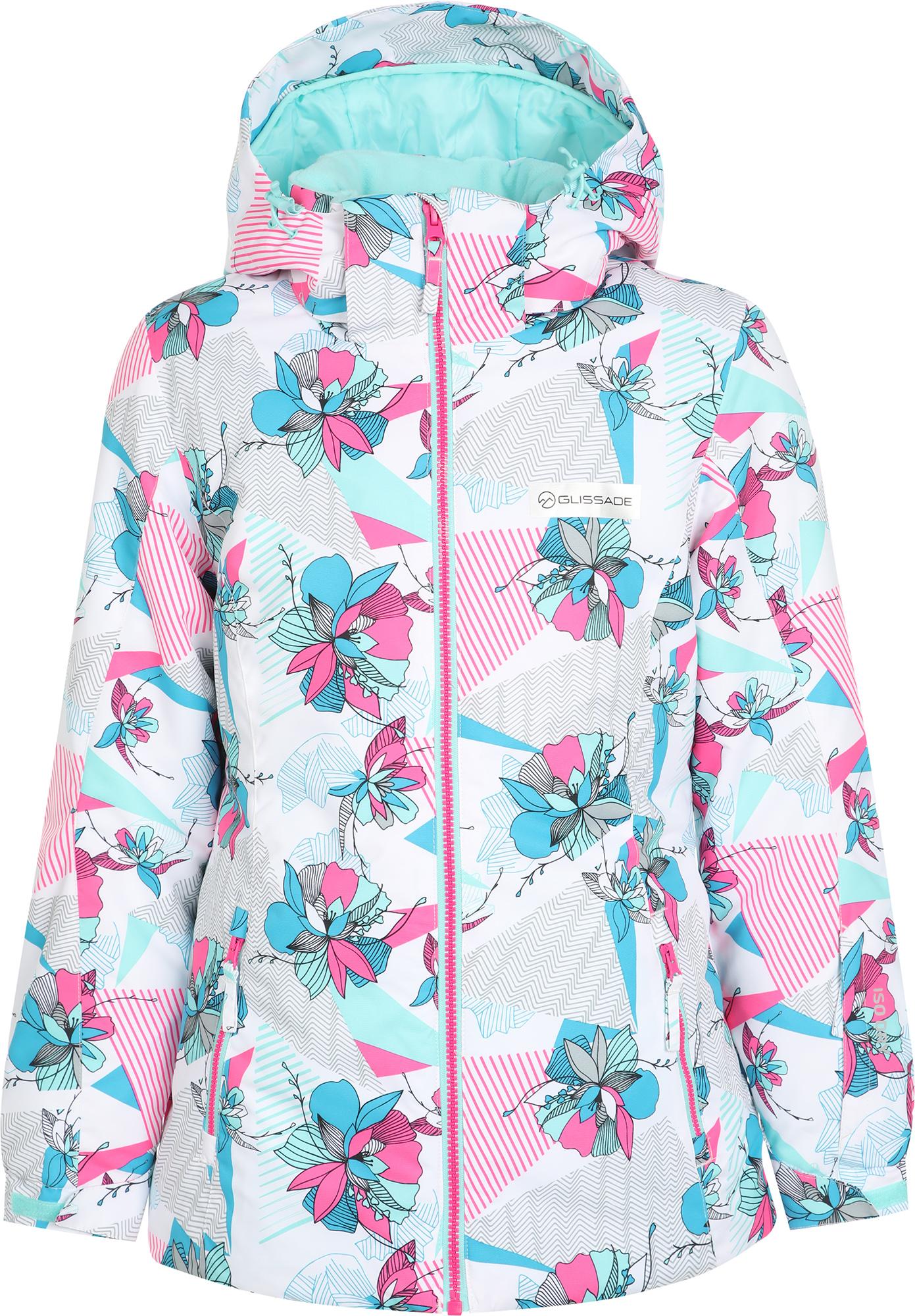 Glissade Куртка утепленная для девочек Glissade, размер 158
