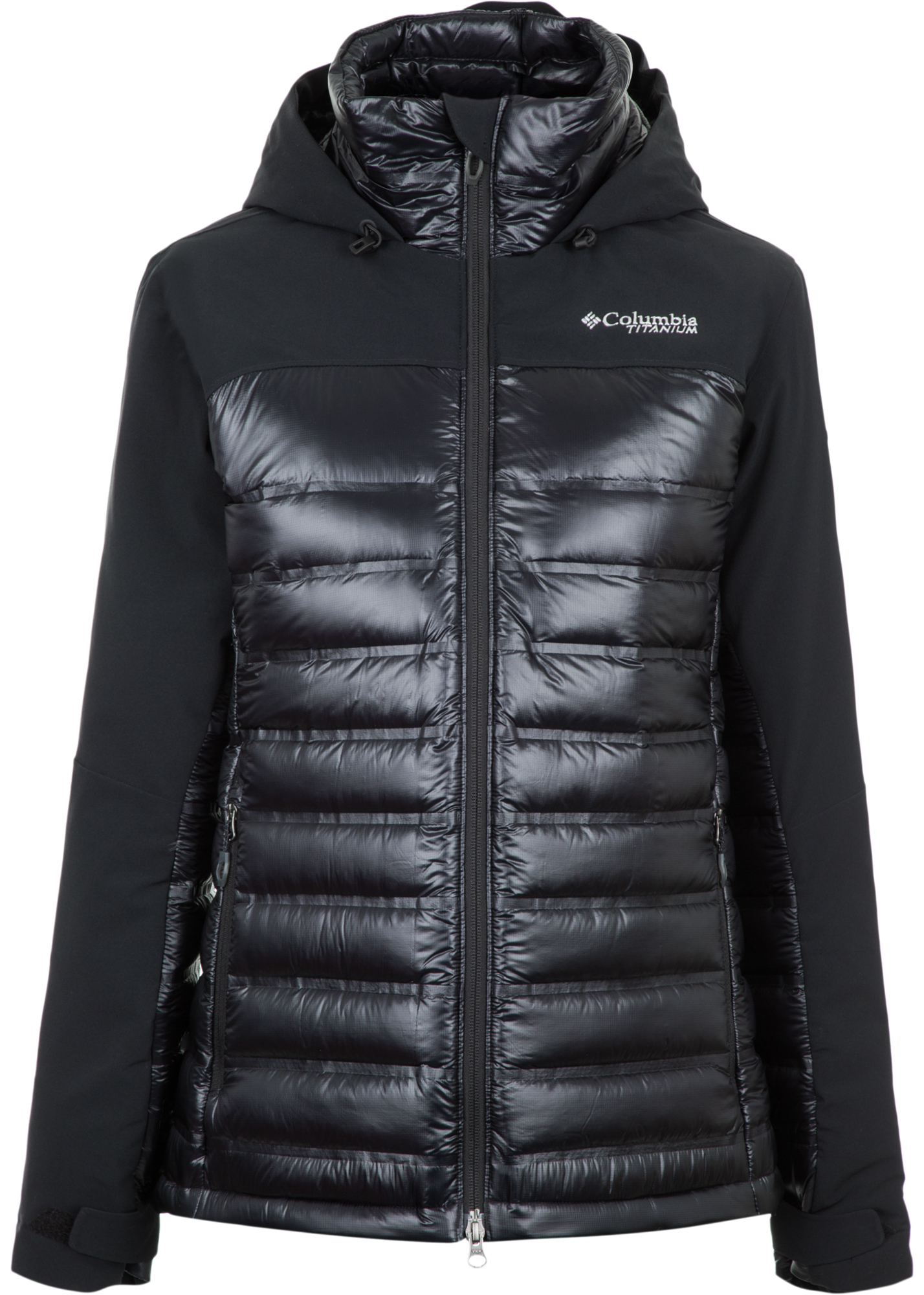 Columbia Куртка пуховая женская Columbia Heatzone 1000 TurboDown II, размер 50 pajar куртка пуховая женская cougar xl jet black