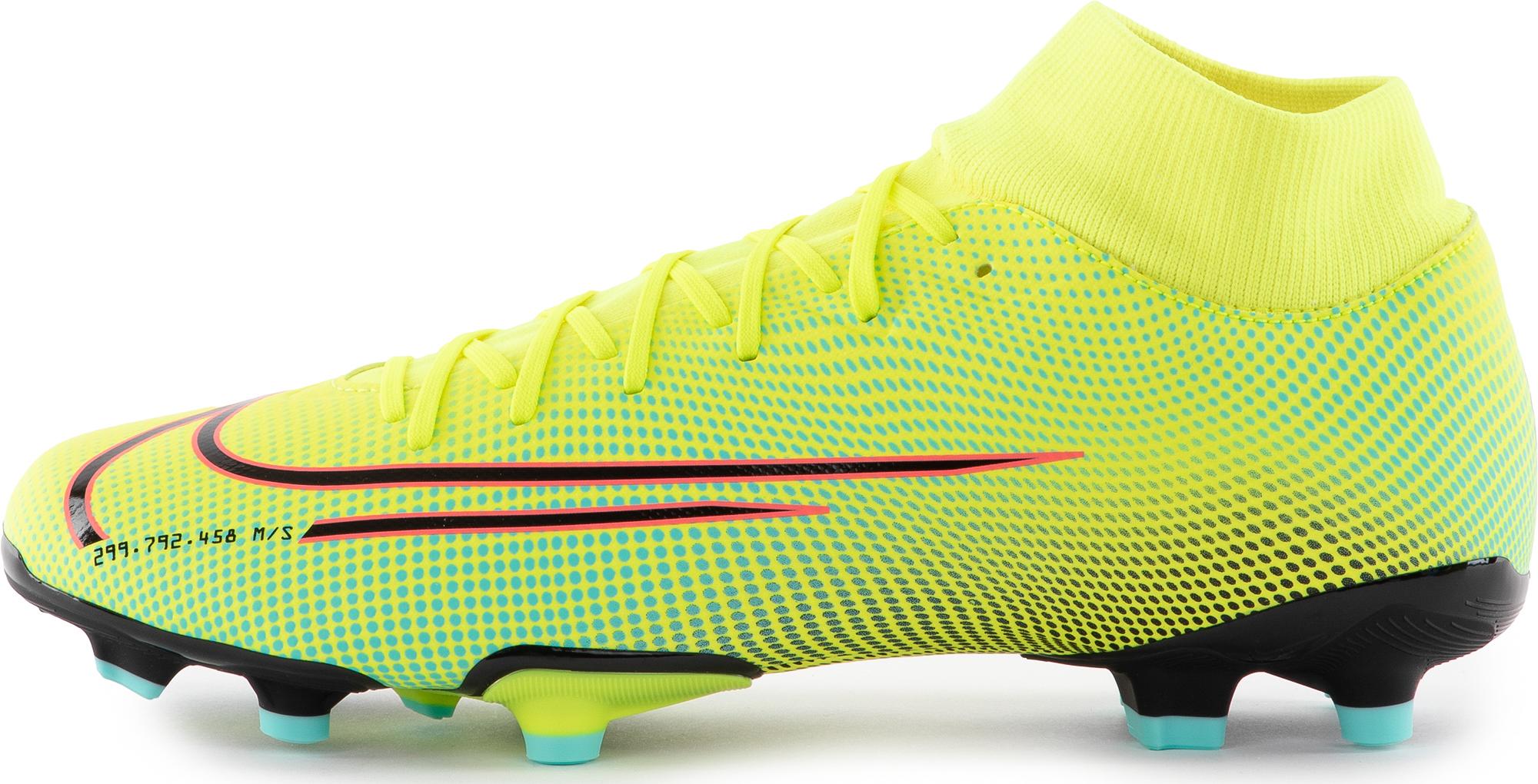 Nike Бутсы мужские Nike Mercurial Superfly 7 Academy MDS MG, размер 39.5 nike бутсы мужские nike mercurial superfly 7 academy mds mg размер 44