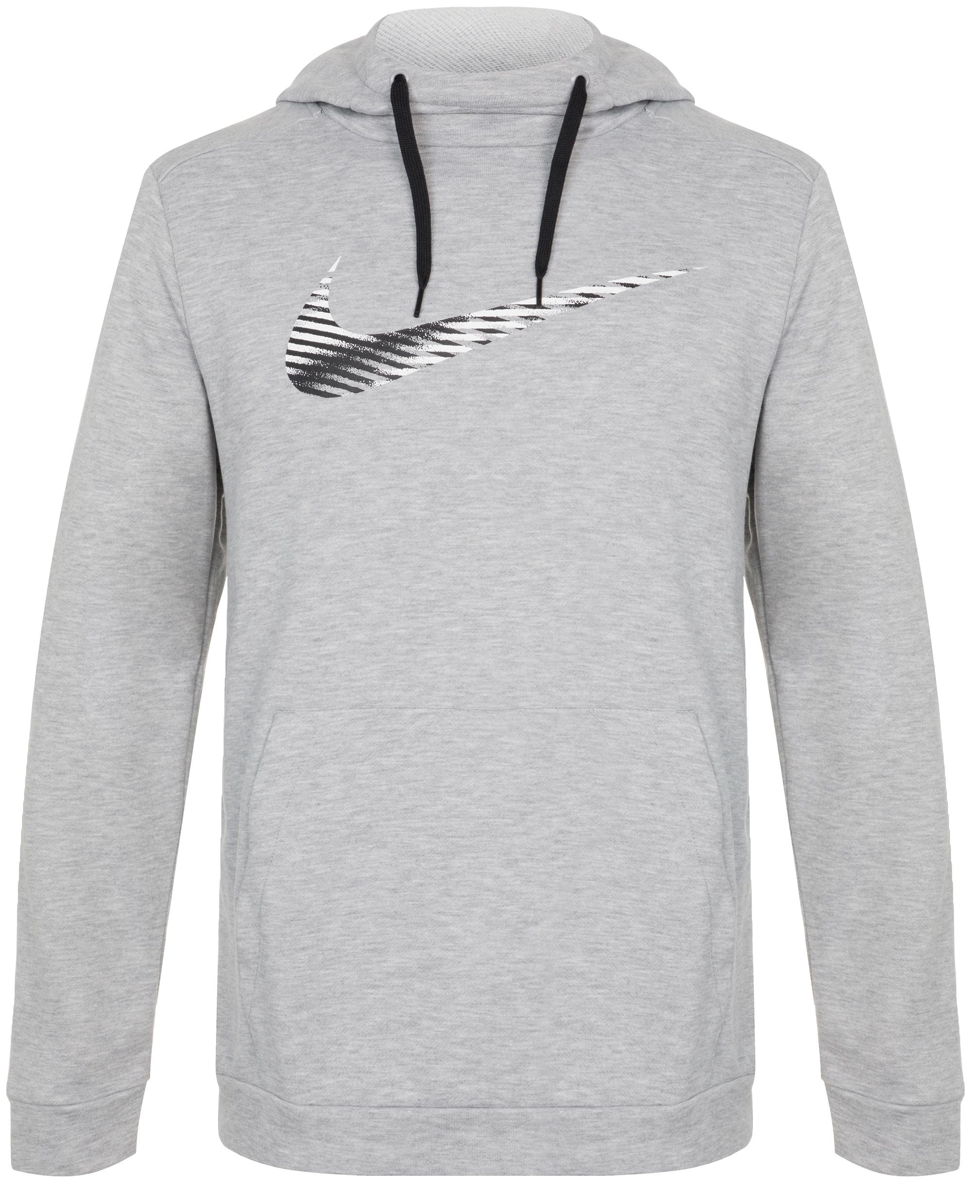 Nike Худи мужская Nike Dri-FIT, размер 52-54 худи superdry оранжевый 54 размер