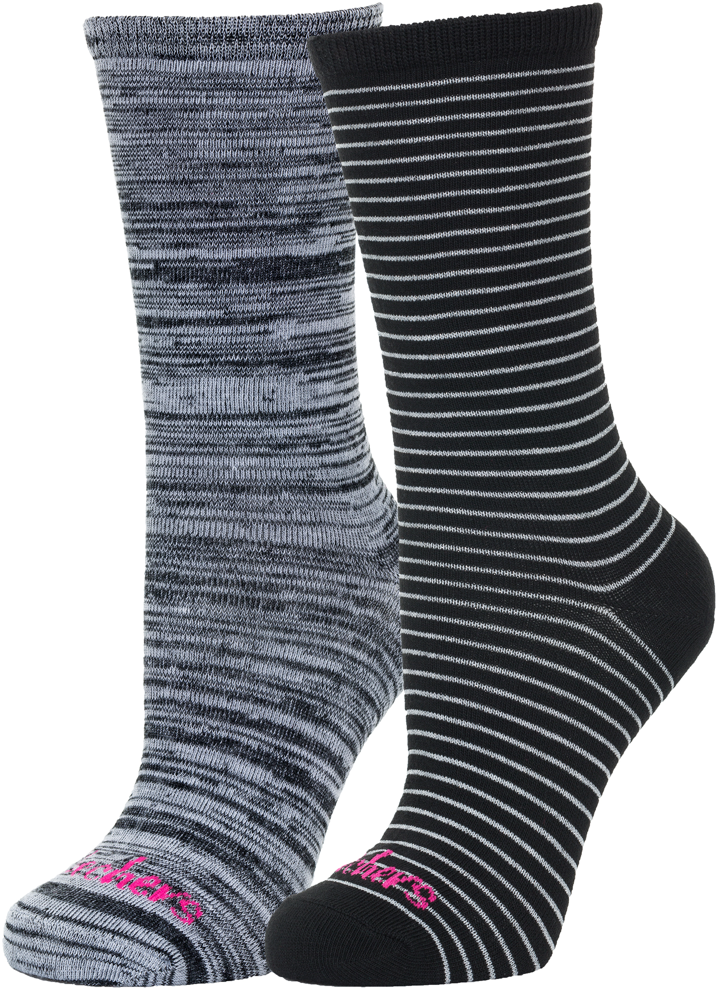 Skechers Носки женские Skechers, 2 пары, размер 35-39 skechers носки женские skechers 3 пары размер 35 39