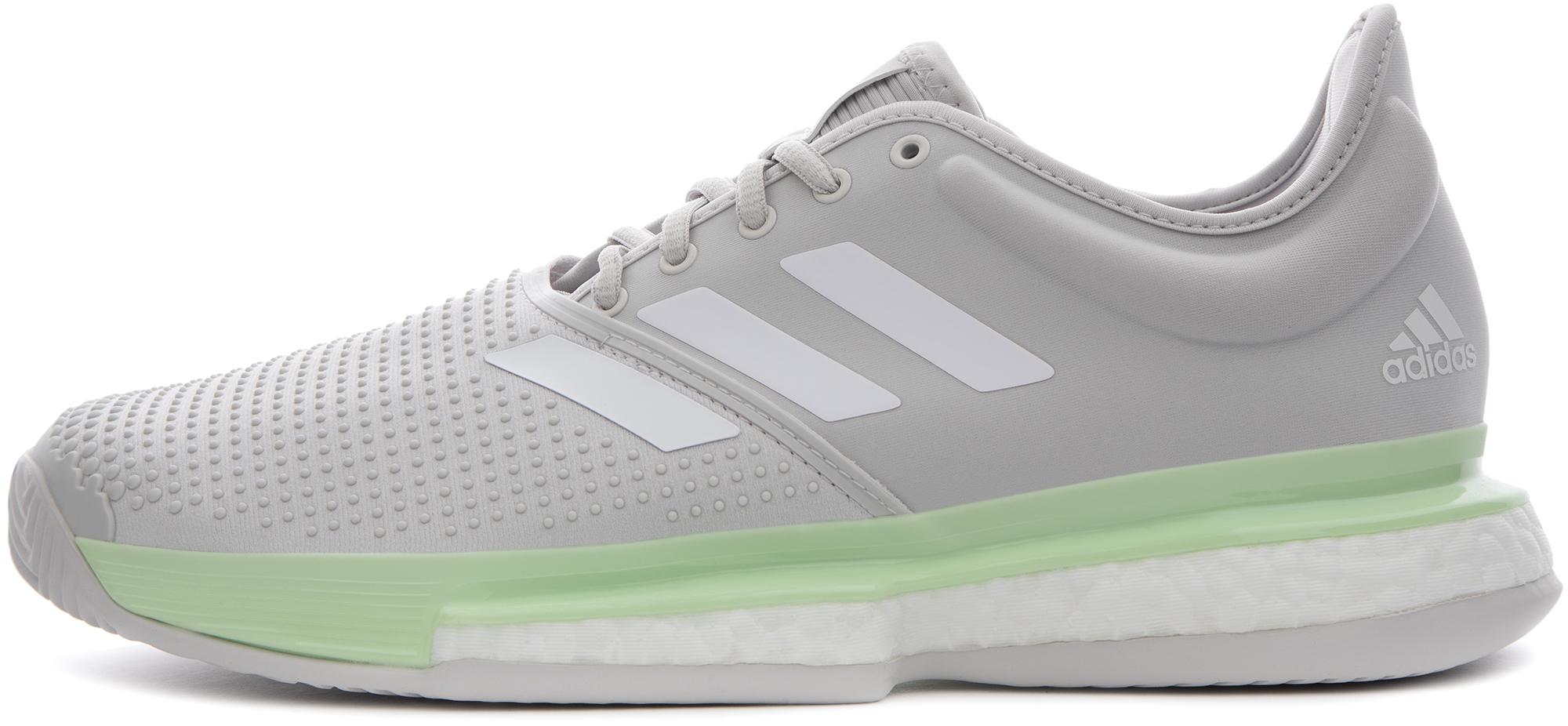 Adidas Кроссовки женские Adidas SoleCourt Boost, размер 42 баскетбольные кроссовки adidas rose boost rose derrick