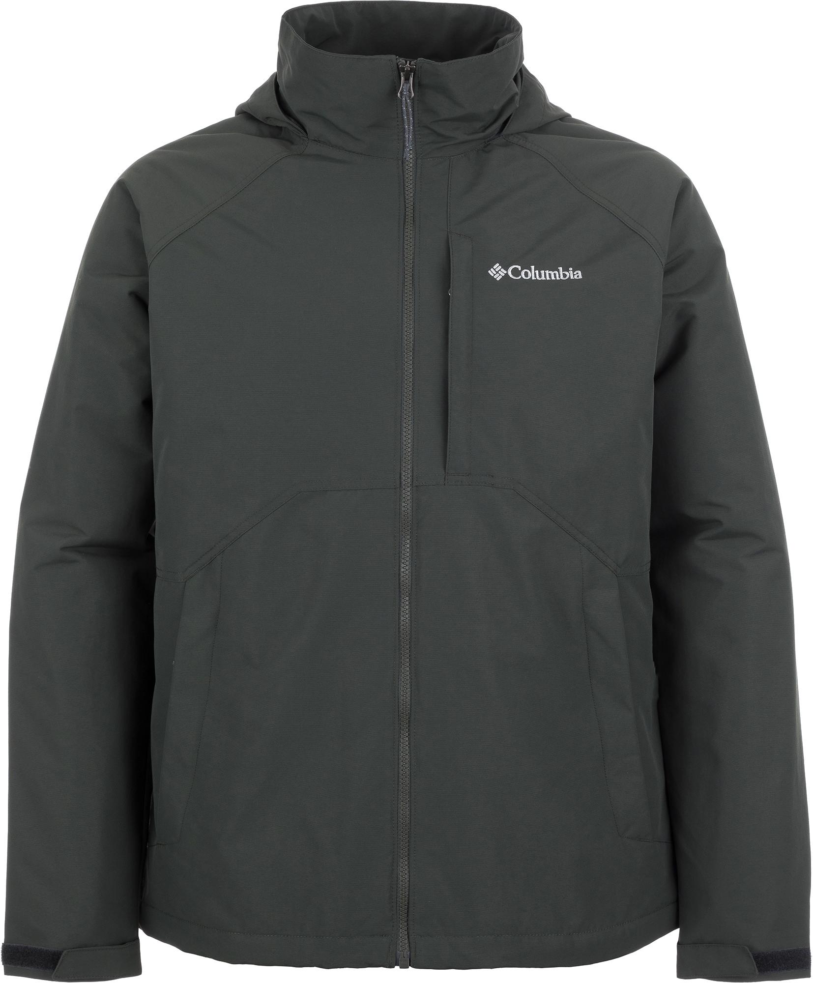 Columbia Куртка утепленная мужская Columbia Columbus Creek Insulated, размер 52-54 куртка мужская geox цвет темно синий m8220kt2447f4386 размер 54