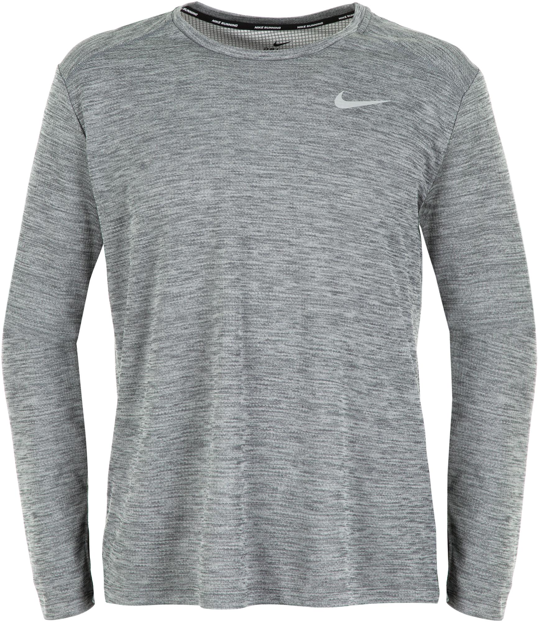 Nike Лонгслив мужской Nike Pacer, размер 46-48 лонгслив мужской oodji basic цвет серый 5b511002m 46737n 2300m размер s 46 48