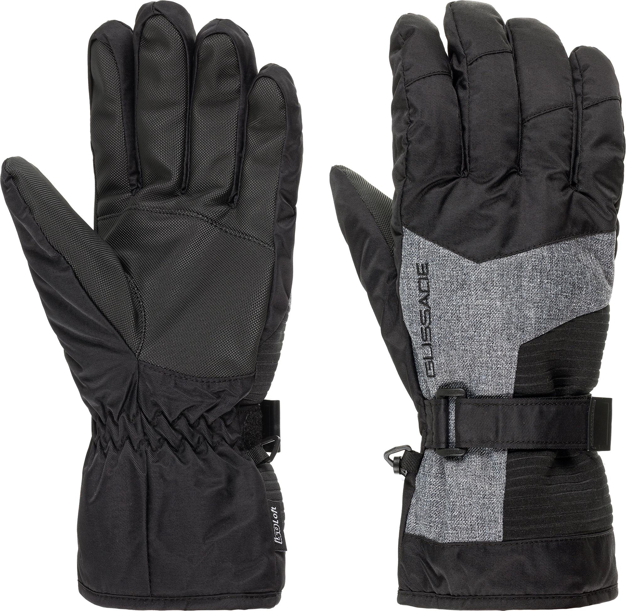 Glissade Перчатки мужские Glissade, размер 9 перчатки jetasafety jle021 9 l12