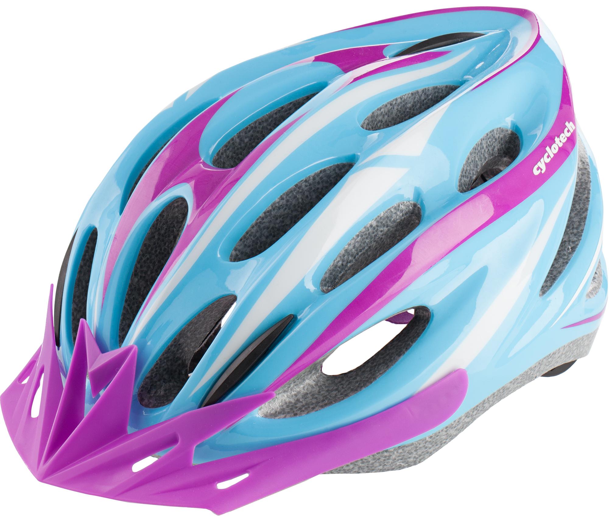 Cyclotech Шлем велосипедный женский Cyclotech cyclotech перчатки велосипедные cyclotech pilot