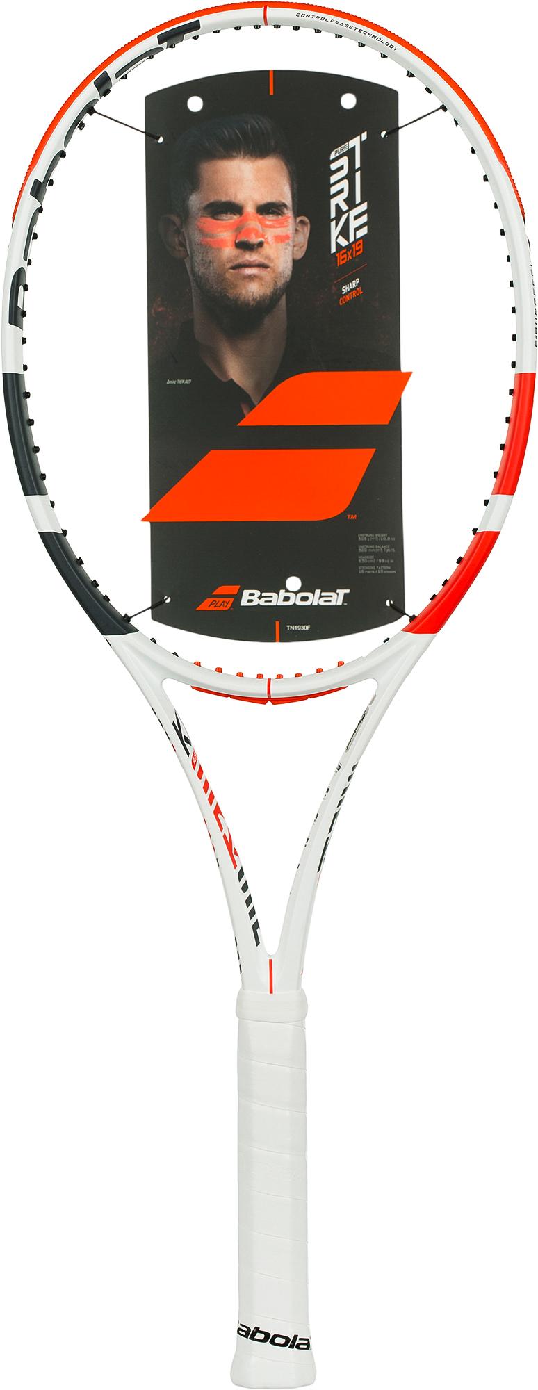 Babolat Ракетка для большого тенниса Babolat PURE STRIKE 16/19 27 babolat ракетка для большого тенниса babolat pure strike team размер 3