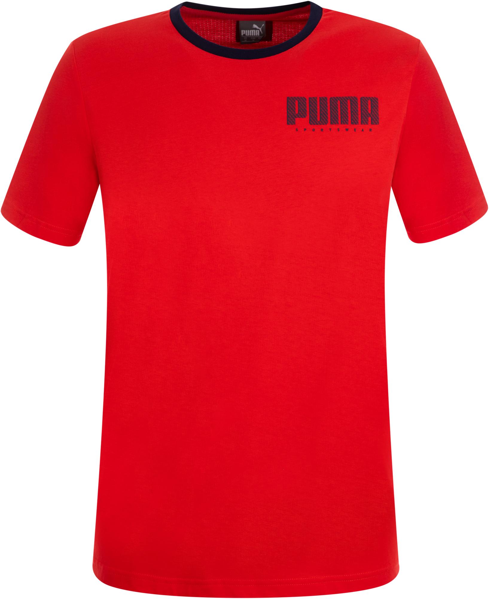 Puma Футболка мужская Puma Athletics Elevated, размер 48-50